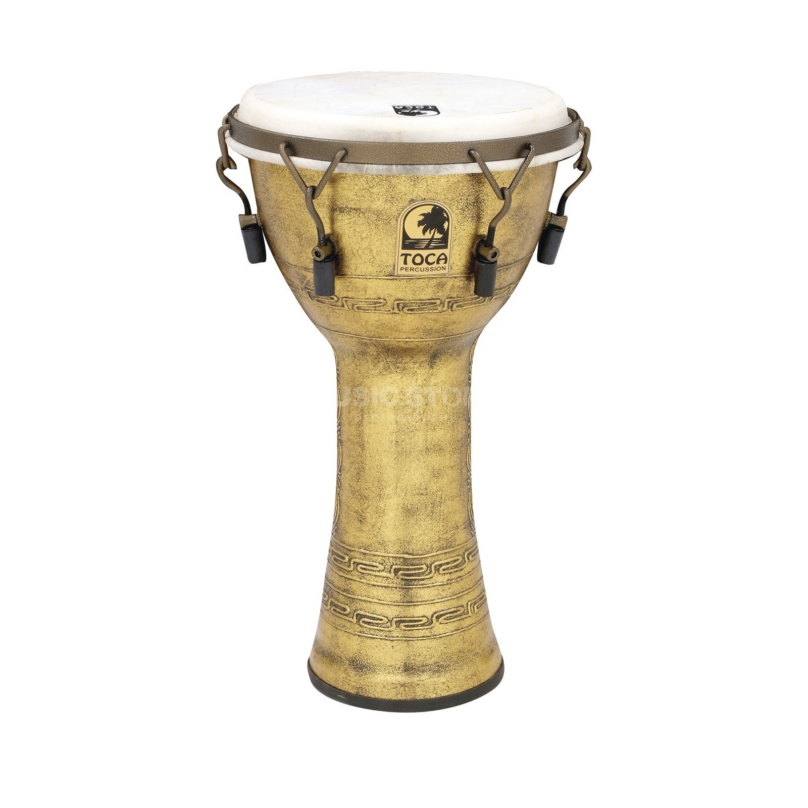 "Toca Percussion Freestyle Djembe SFDMX-10AG, Synergy, 10"", Antique Gold Produktbillede"