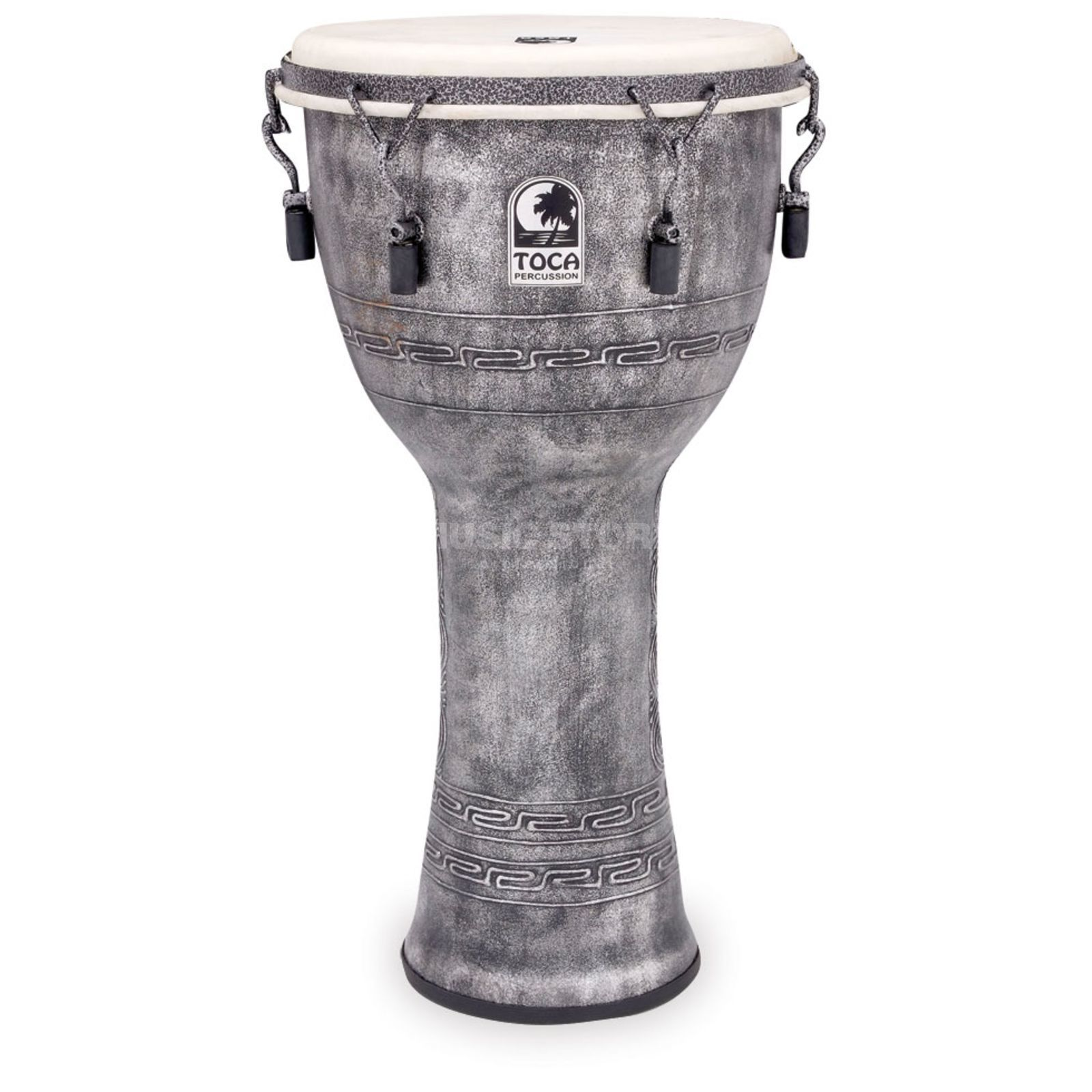 "Toca Percussion Freestyle Djembe SFDMX-12AS, Synergy, 12"", Antique Silver Produktbild"