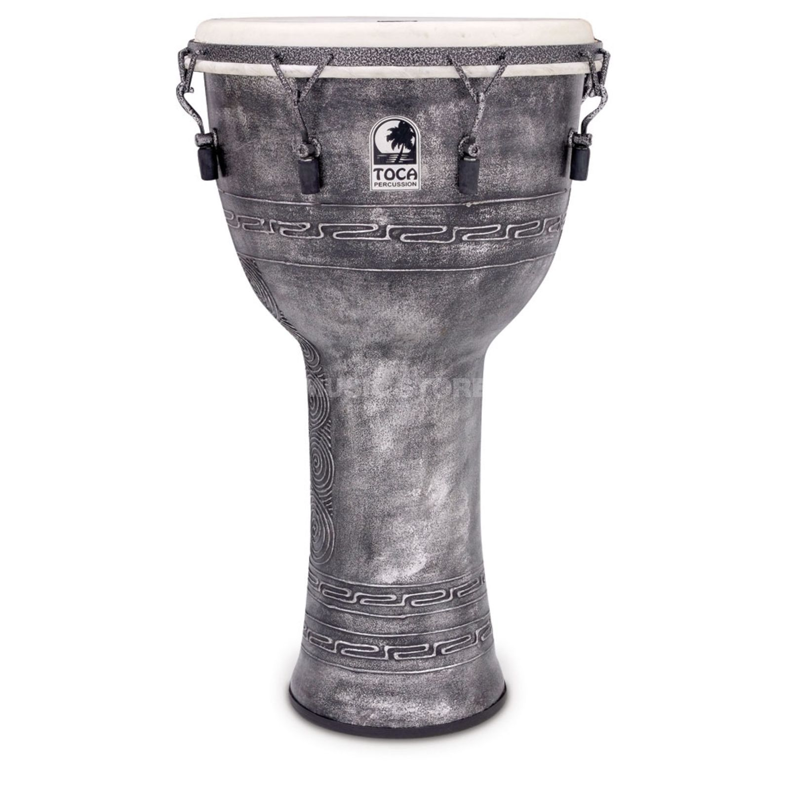 "Toca Percussion Freestyle Djembe SFDMX-14AS, Synergy, 14"", Antique Silver Produktbild"