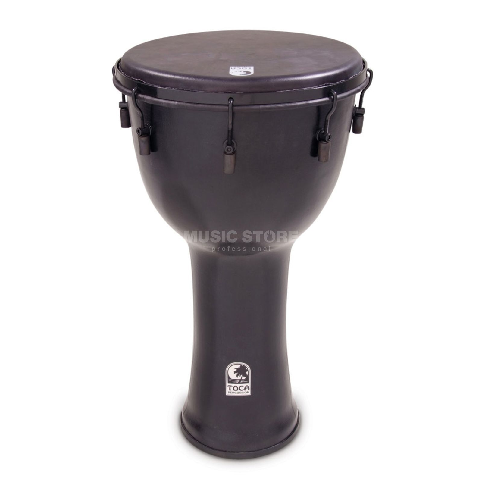 "Toca Percussion Freestyle Djembe SFDMX-14BMB, 14"", Black Mamba #BM, + Bag Produktbillede"