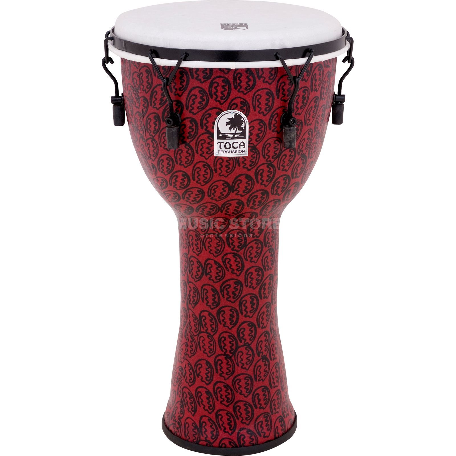 "Toca Percussion Freestyle Djembe TF2DM-14RM, 14"", Red Mask Produktbillede"