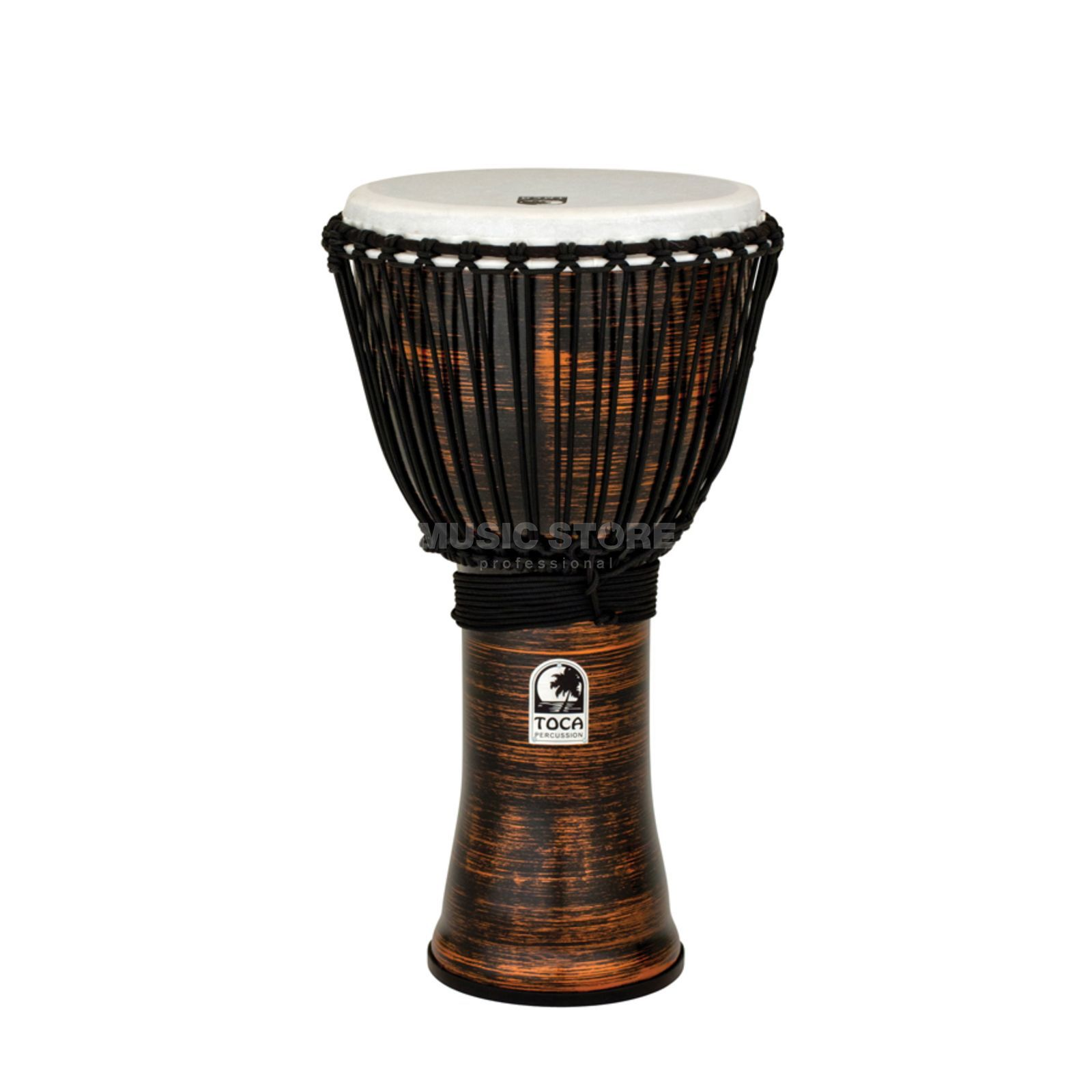 "Toca Percussion Freestyle II Djembe TF2DJ-9SC 9"", Rope, Spun Copper Produktbild"