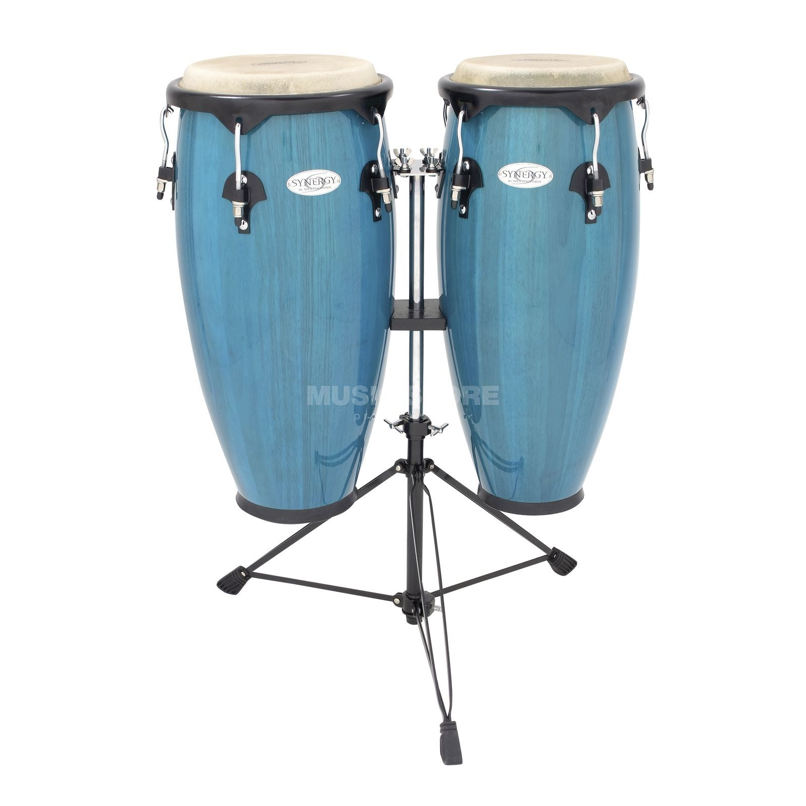 "Toca Percussion Synergy CongaSet 2300BB, 10"" & 11"", Bahama Blue Produktbild"
