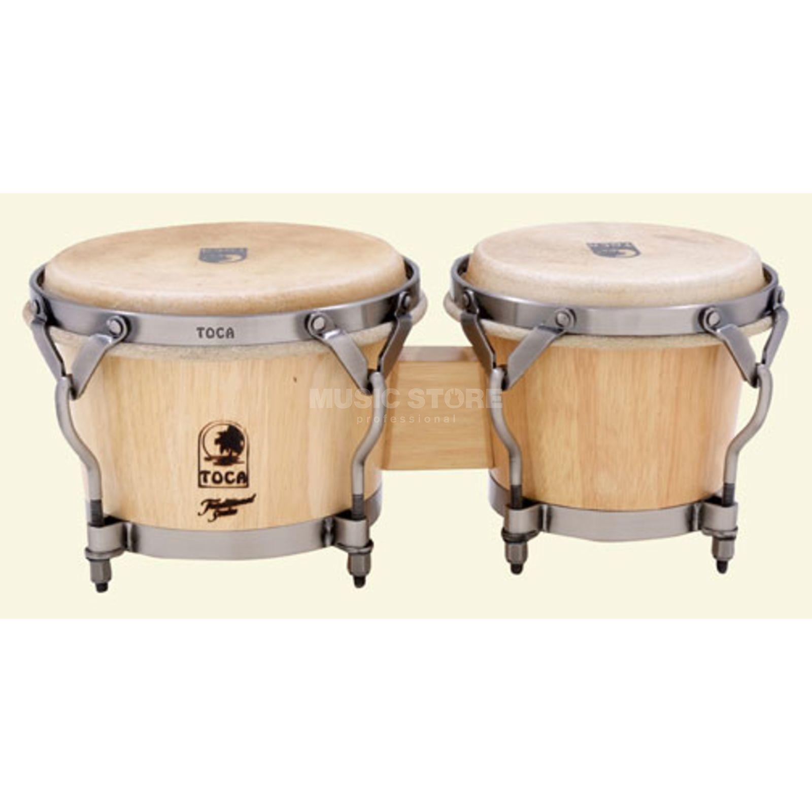 Toca Percussion Traditional Bongos Natural, Overstock Produktbild