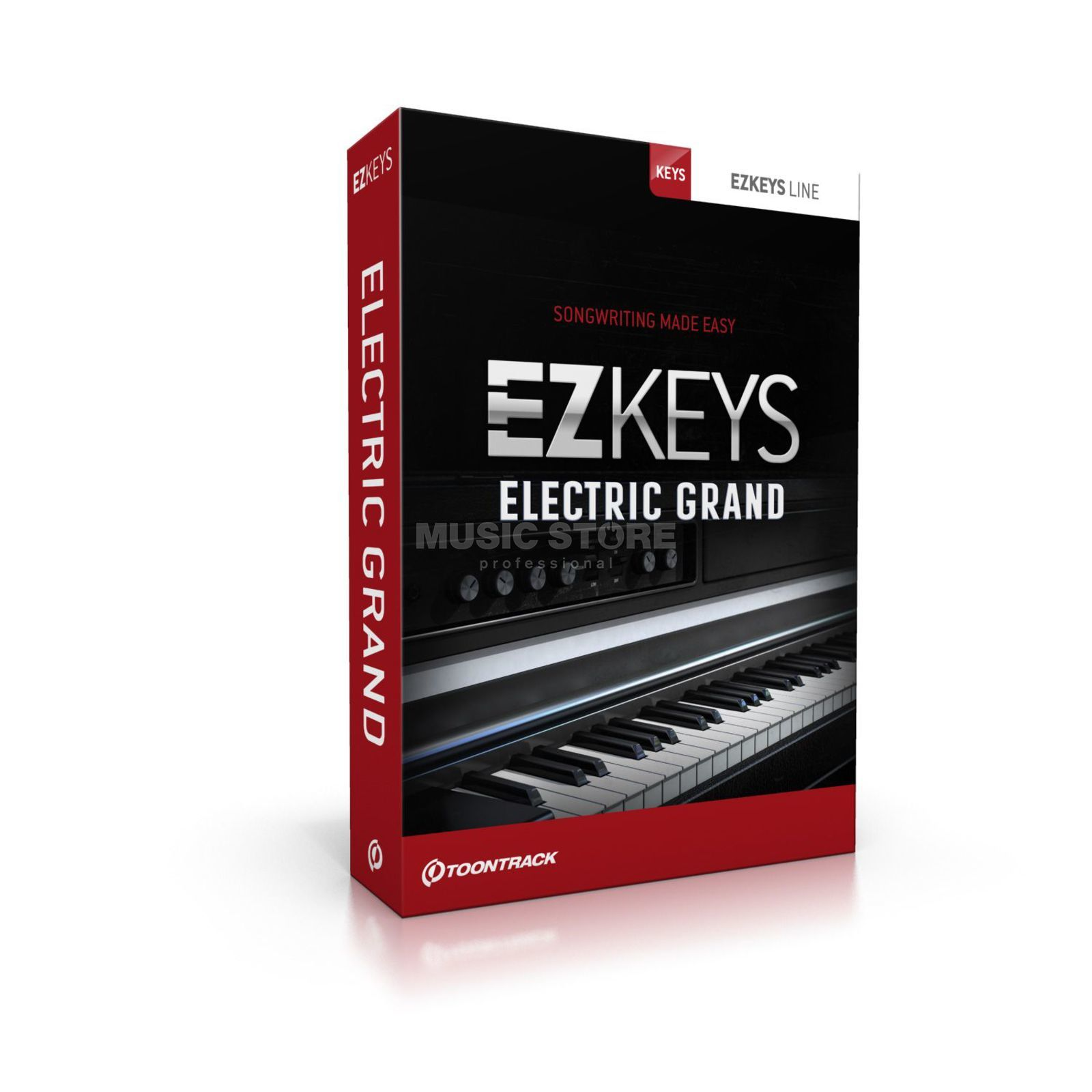 Toontrack EZ Keys Electric Grand  Produktbild
