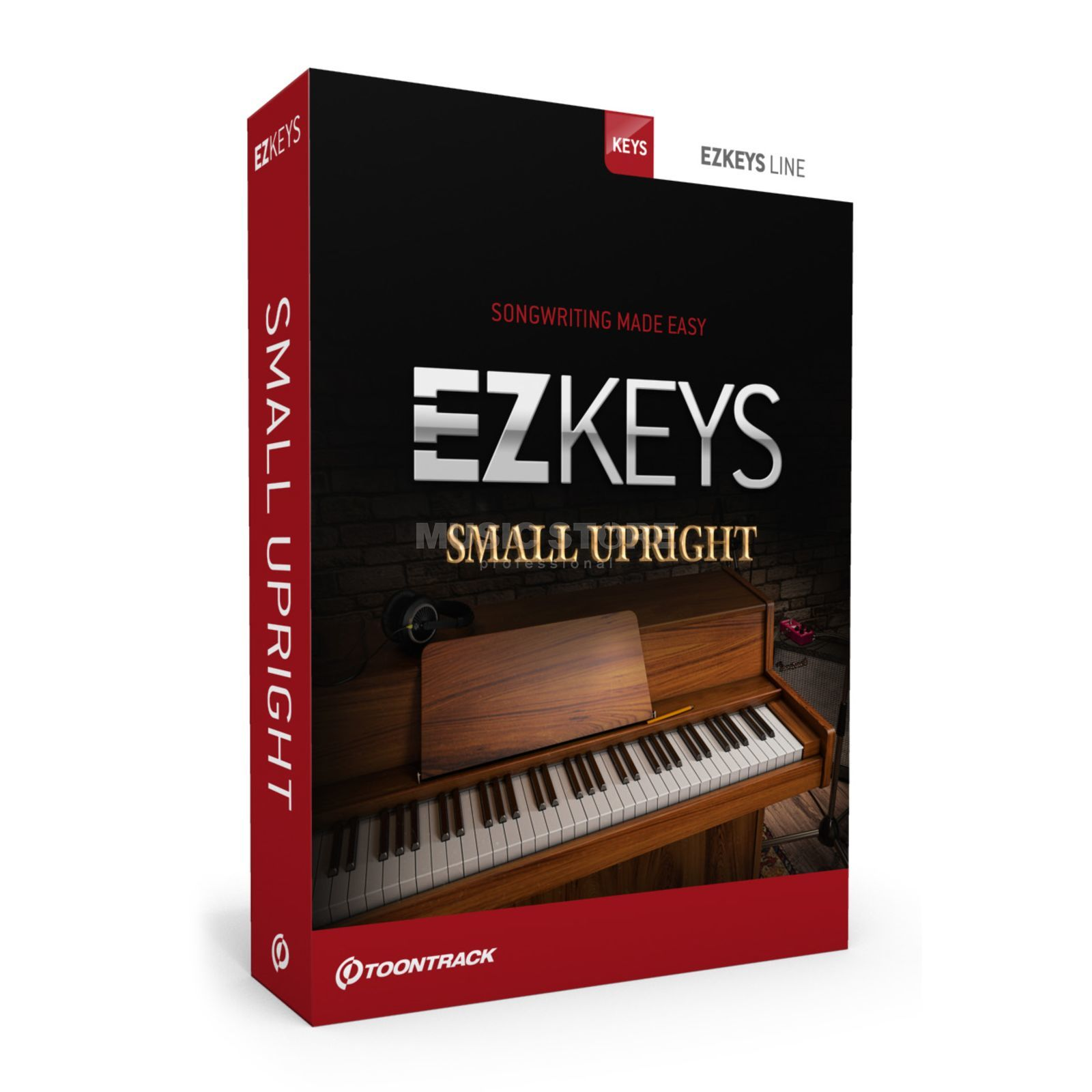 Toontrack EZ Keys Small Upright Produktbillede