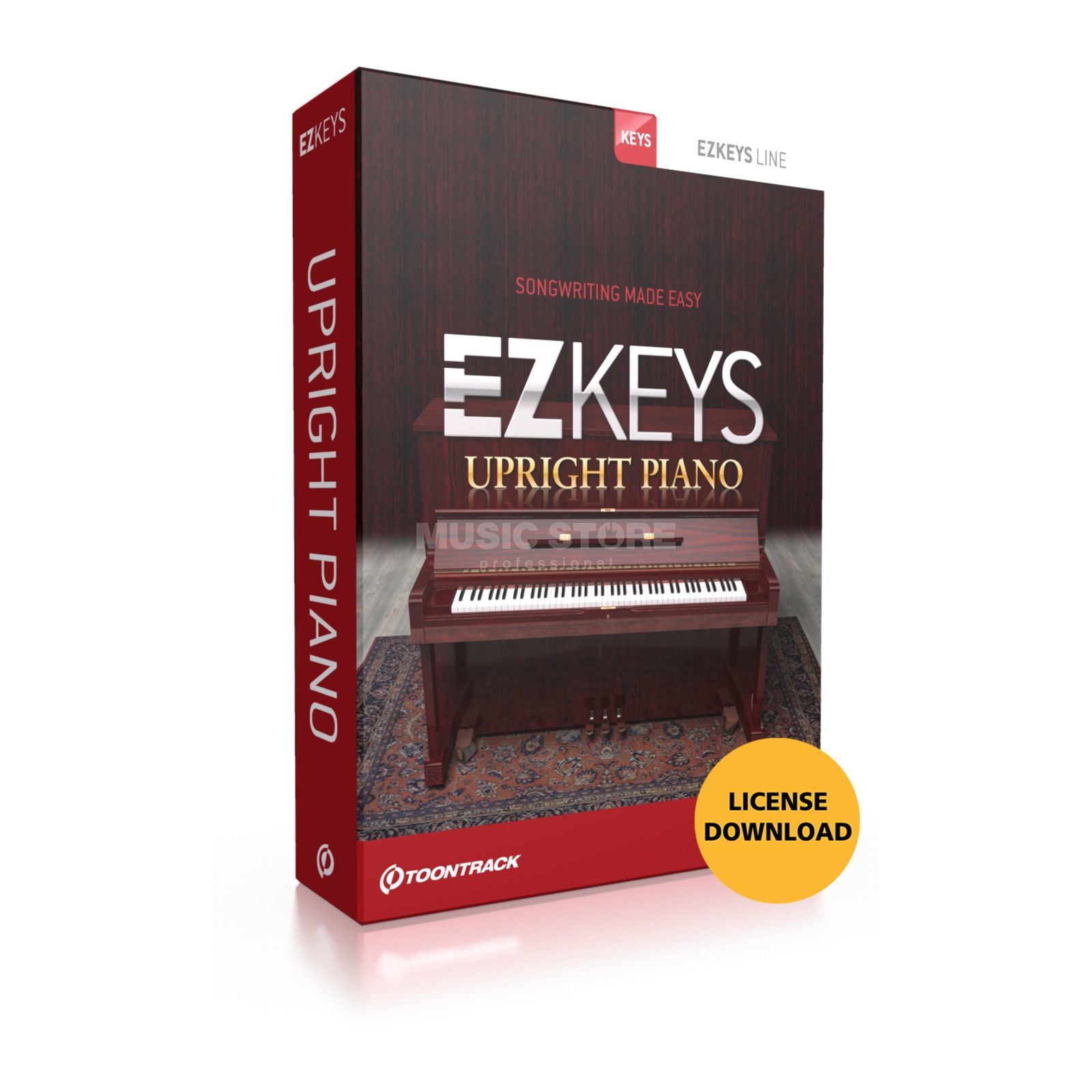 Toontrack EZ Keys Upright Piano  Produktbild