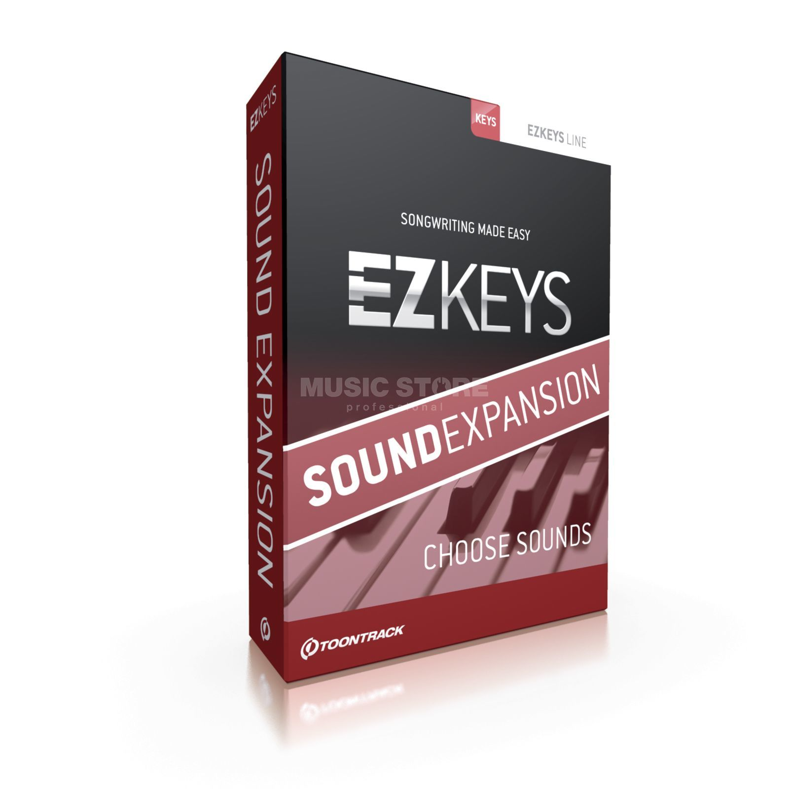 Toontrack EZKeys Sound Expansion Upgrade    Produktbillede