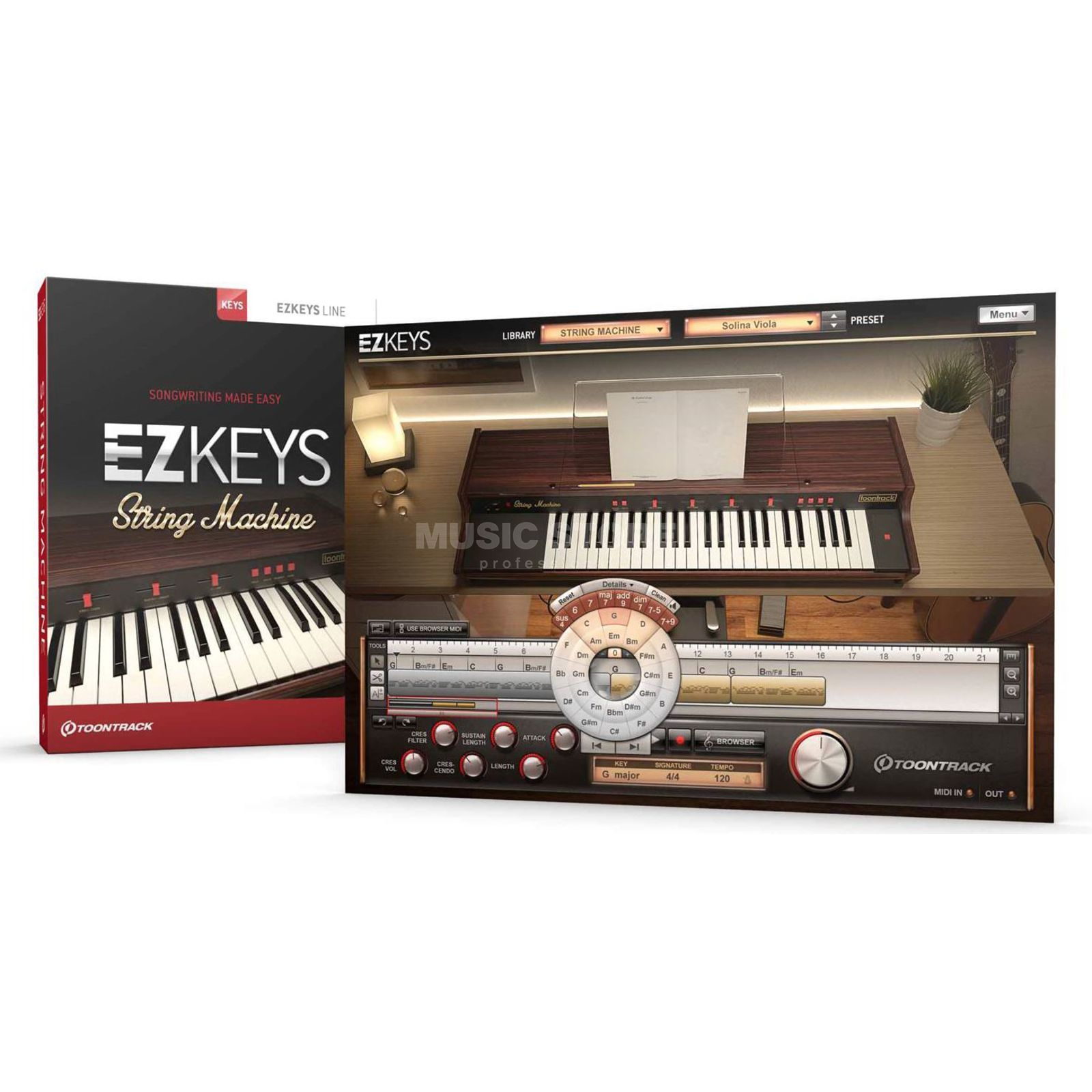 Toontrack EZkeys String Machine Product Image