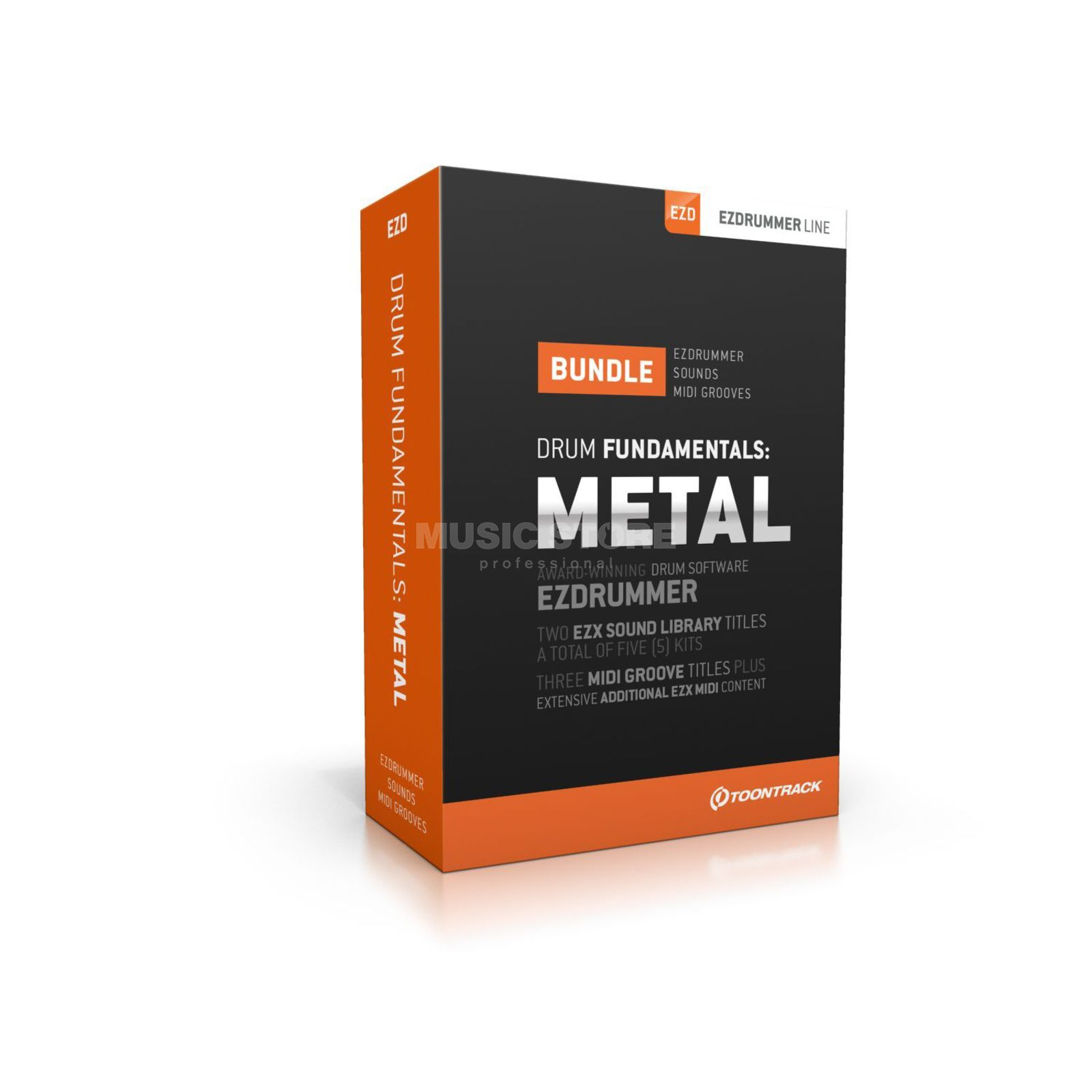 Toontrack EZx - Drum Fundamentals Metal Drum Bundle for EZ Drummer Produktbillede