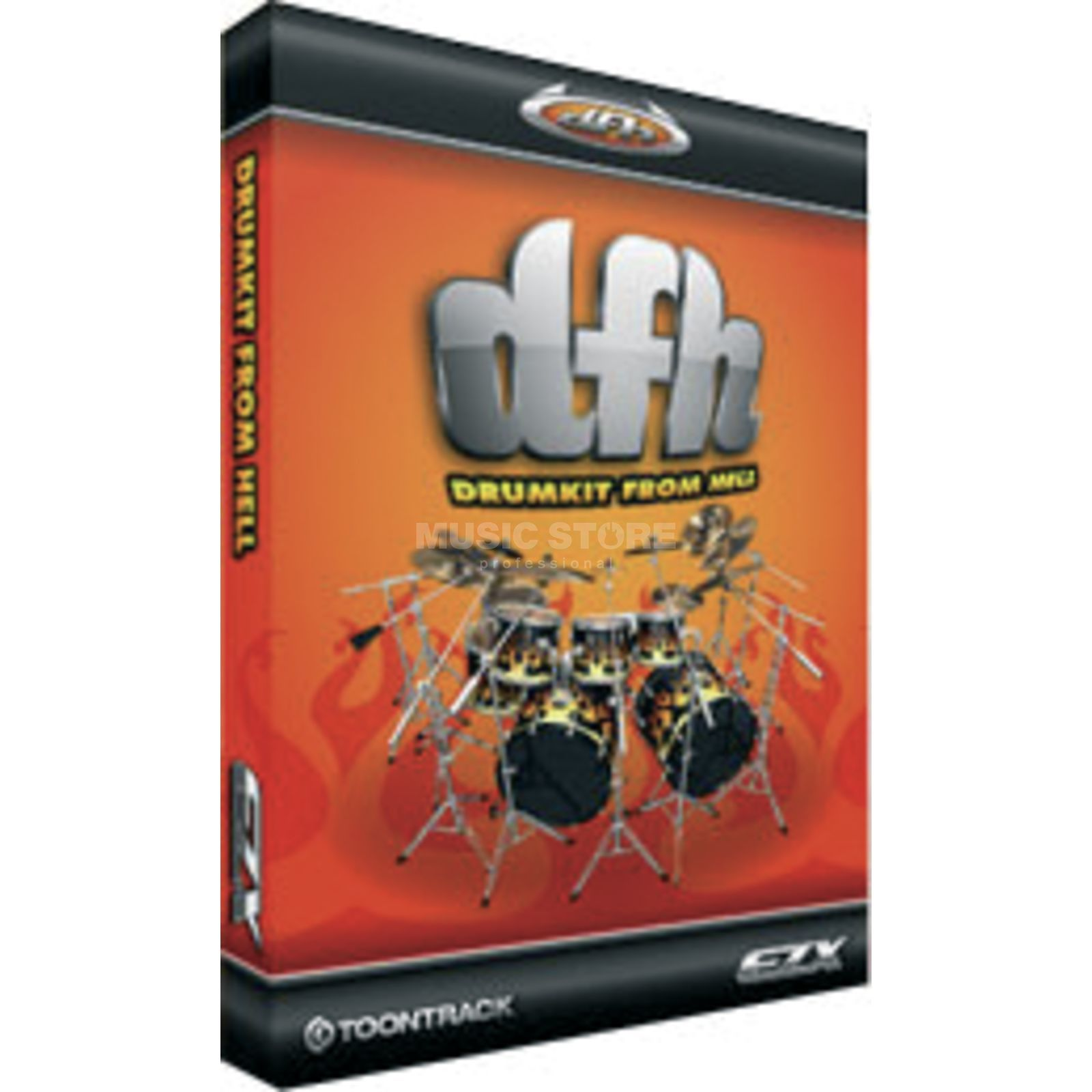 Toontrack EZX Drumkit from Hell Expansion for EZ Drummer /DVD Produktbillede
