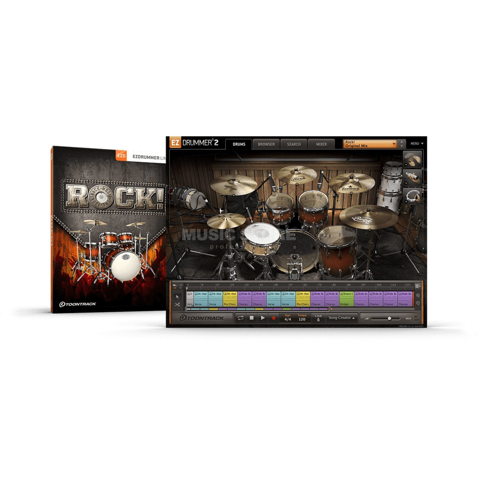 Toontrack EZX Rock License Code Product Image