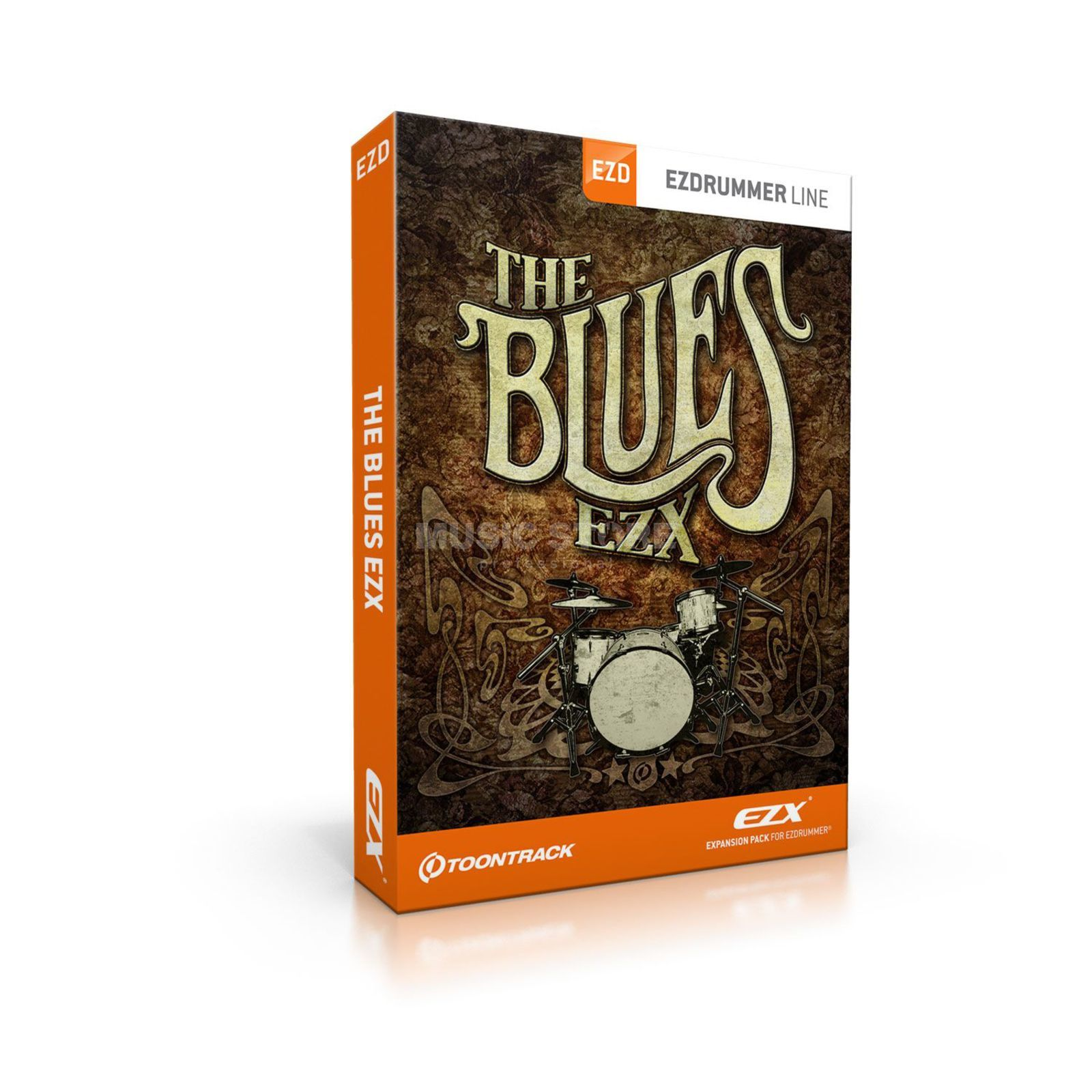Toontrack EZX The Blues Sounds für EZ Drummer DVD Produktbild