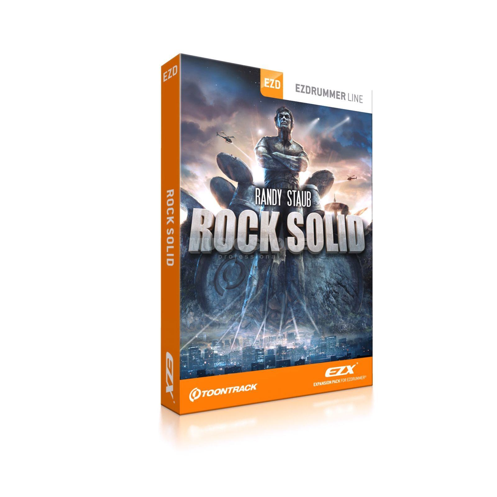 Toontrack Rock Solid EZX Expansion Pack    Produktbillede