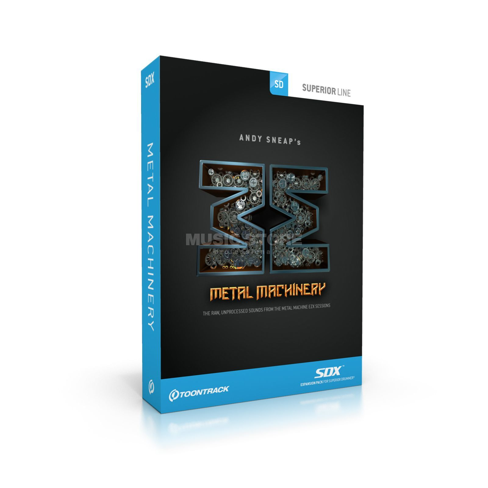 Toontrack SDX Metal Machinery  Produktbild