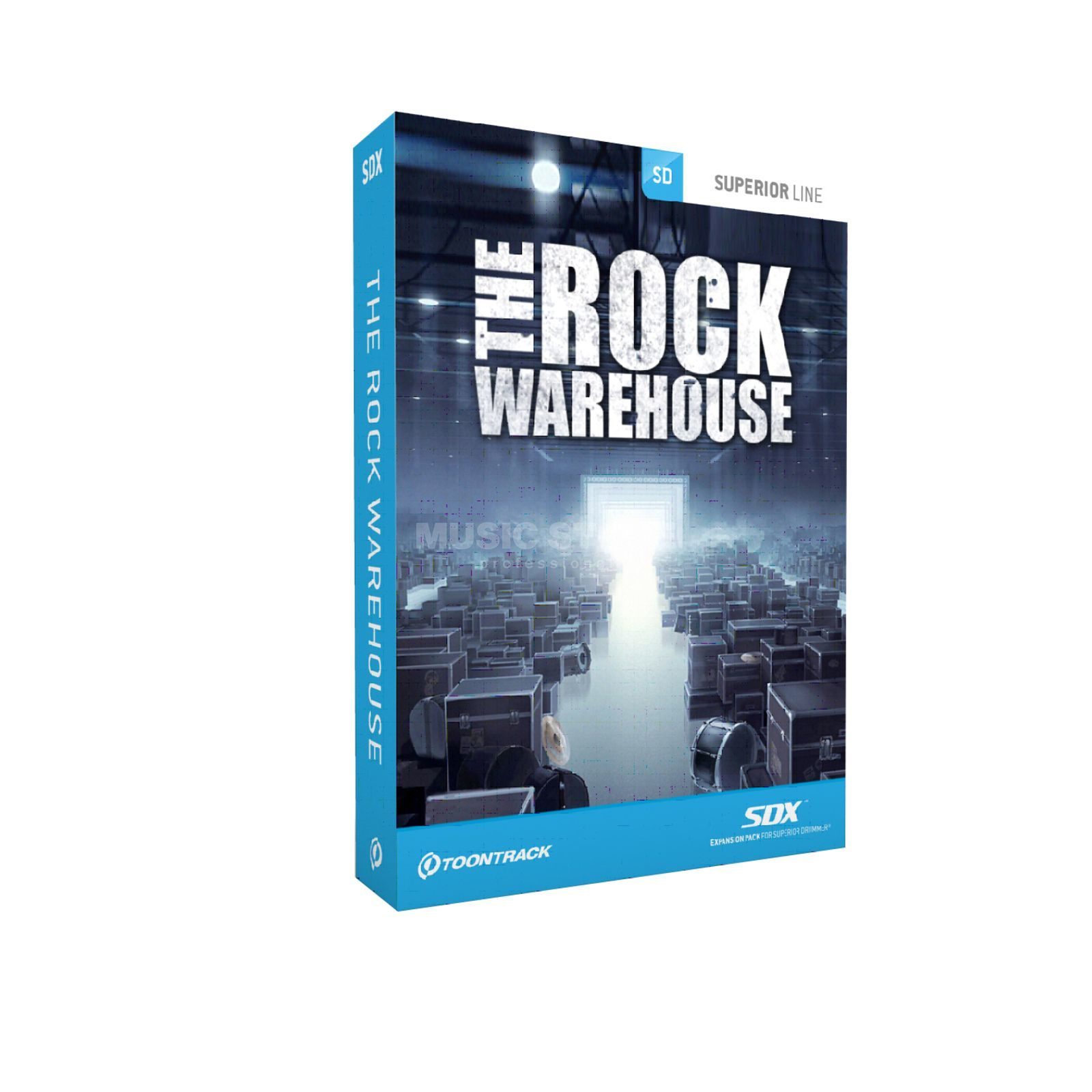 Toontrack SDX The Rock Warehouse Superior Drummer 2 Library Produktbild