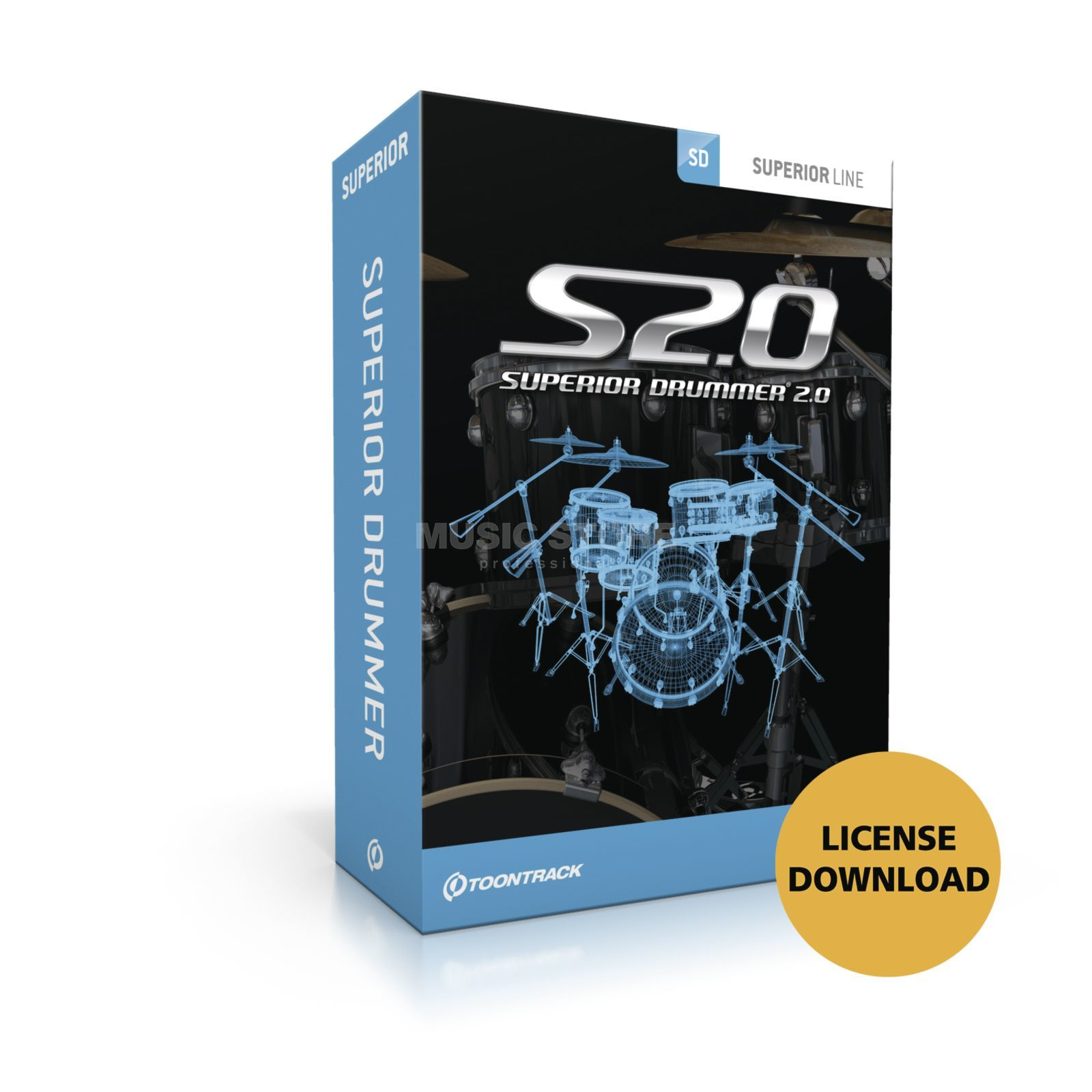 Toontrack Superior Drummer 2.0 CG License Code Product Image