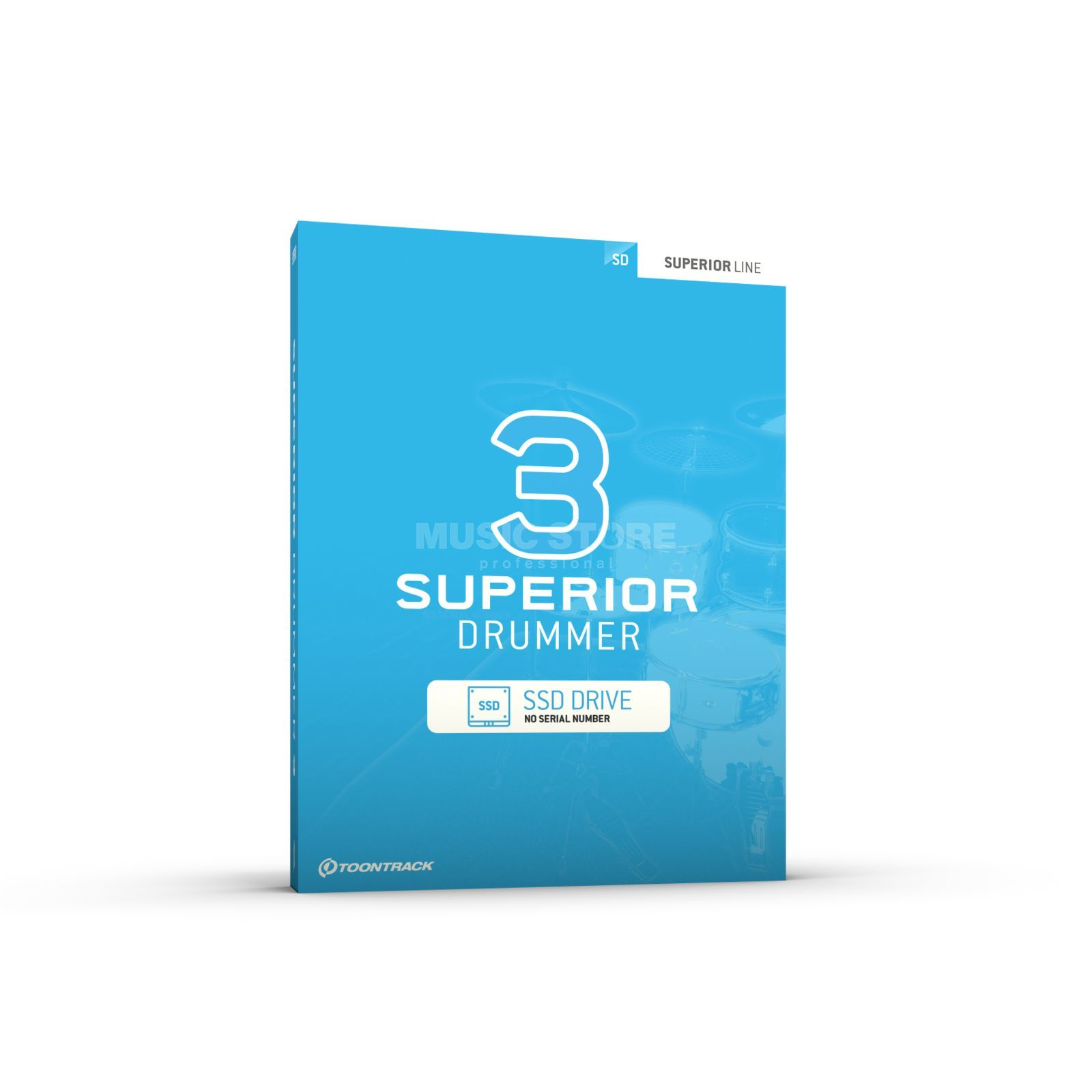 Toontrack Superior Drummer 3 Core Sound Library (USB-SSD) Product Image