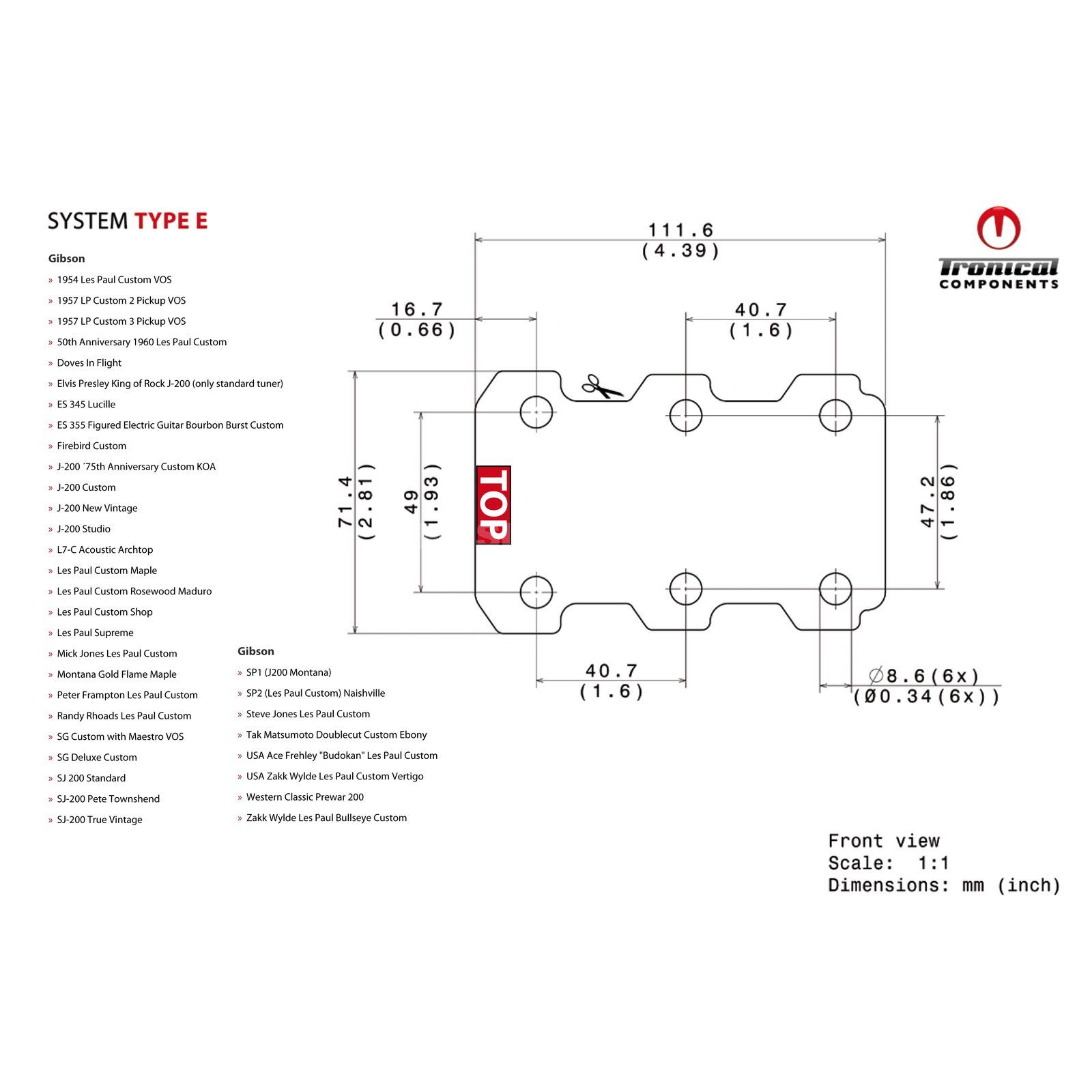 Tronical GmbH Tune System Type E Produktbild