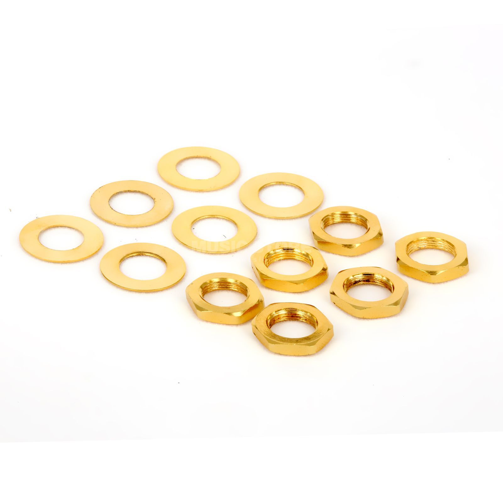 Tronical Hex Nut & Washer Gold Produktbild