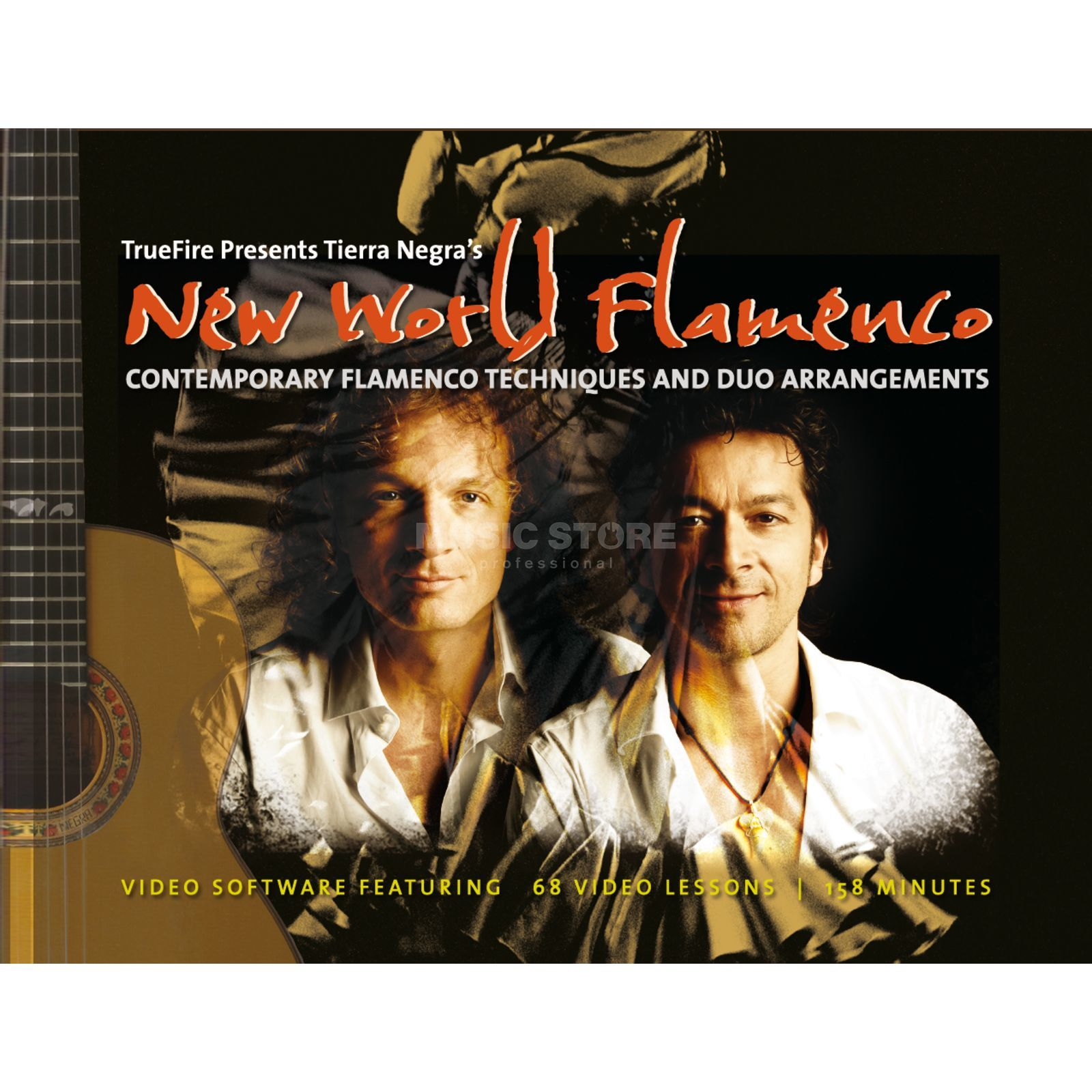 Truefire Tierra Negra - New World Flamenco, Lernvideo, Data-DVD Изображение товара