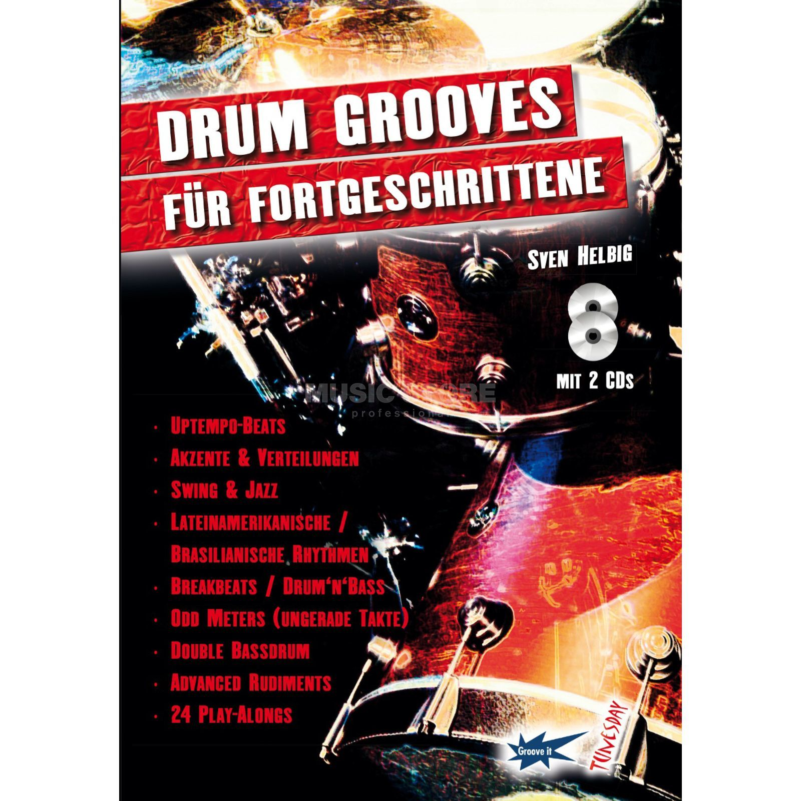 Tunesday Drum Grooves Sven Helbig Produktbild
