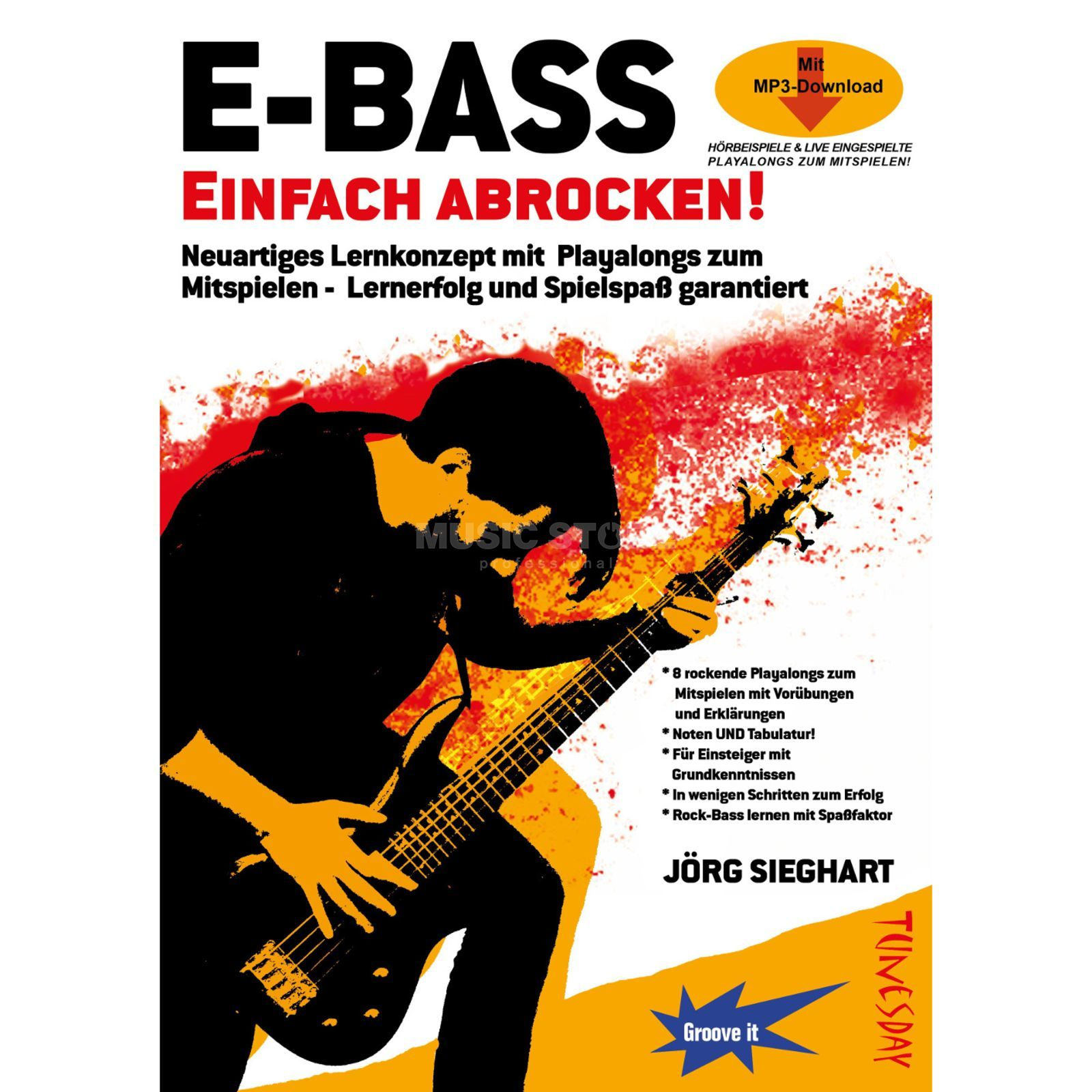 Tunesday E-Bass, Einfach abrocken! Product Image