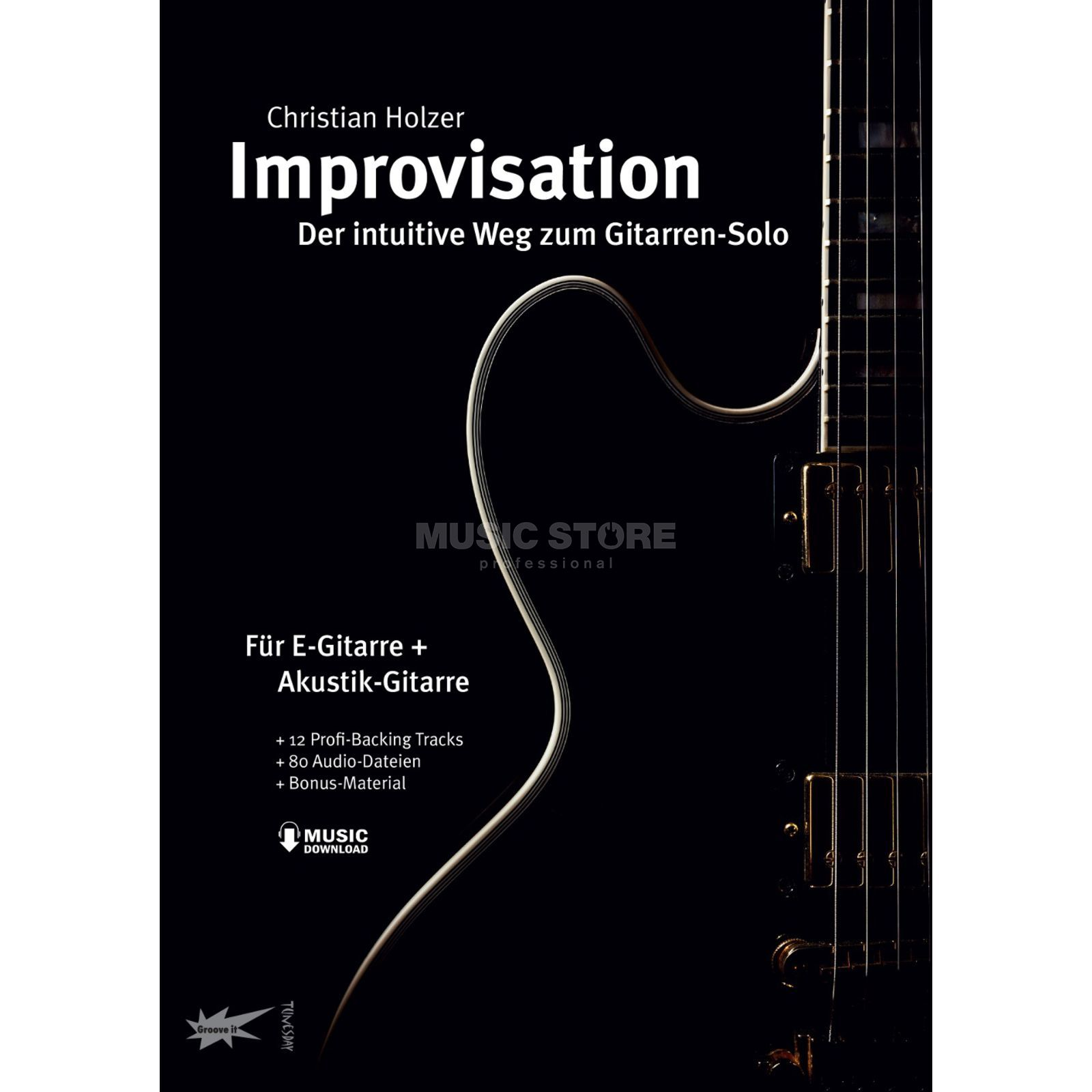 Tunesday Improvisation - der intuitive Weg zum Gitarrensolo Product Image