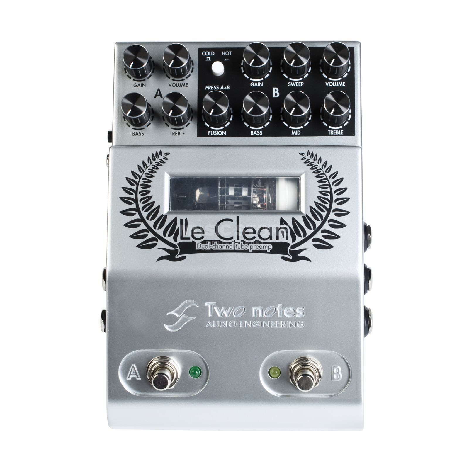 Two Notes Le Clean Dual Channel Preamp Produktbillede