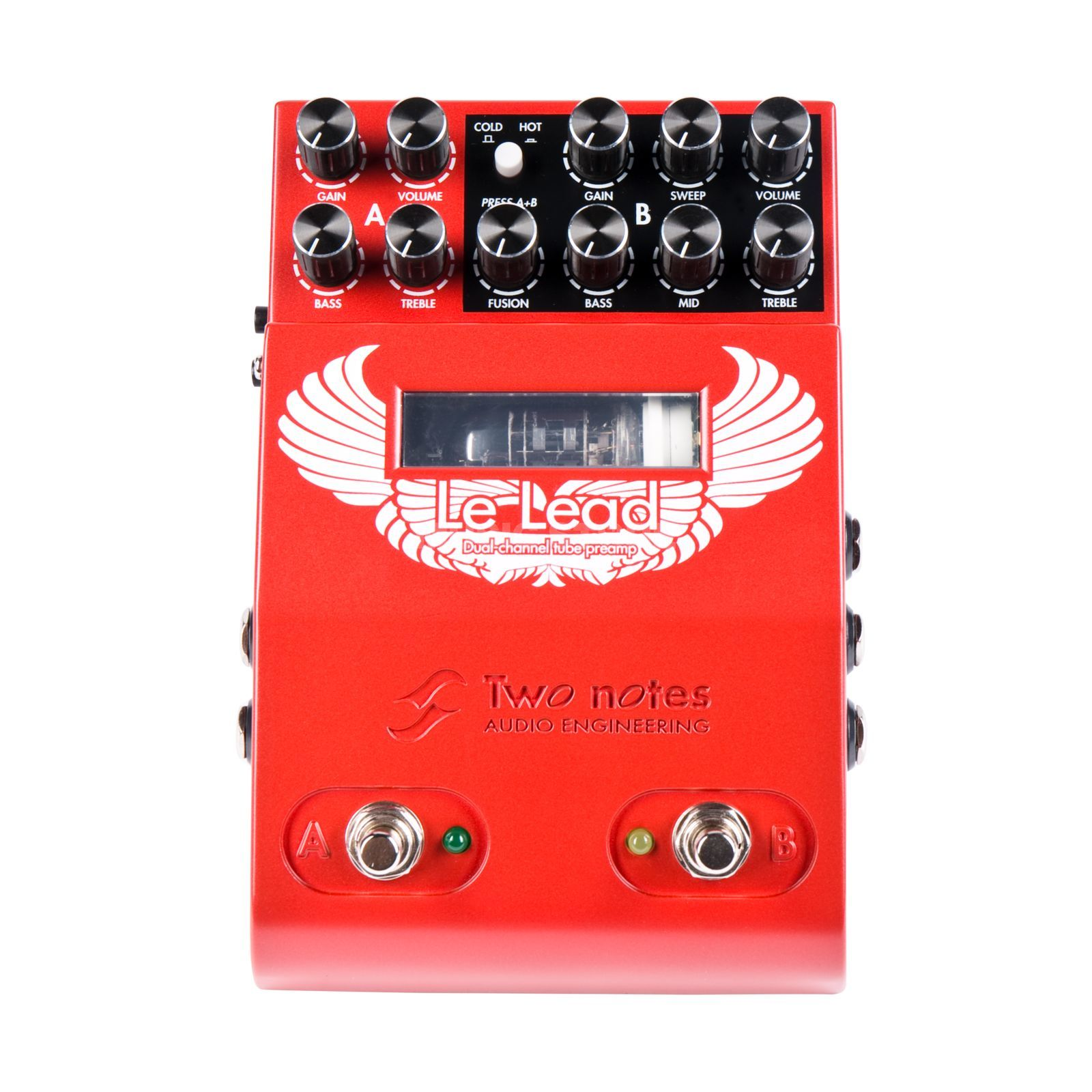 Two Notes Le Lead Dual Channel Preamp Produktbild