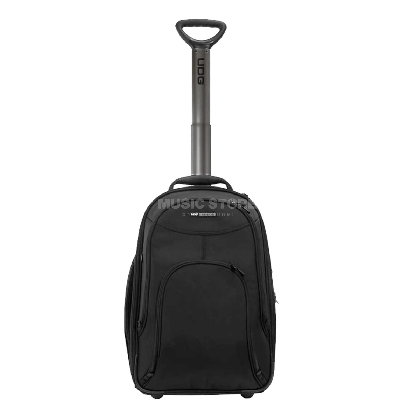 "UDG Controller Trolley / Backpack 21"" Black (MC6000) (U8007BL) Produktbillede"