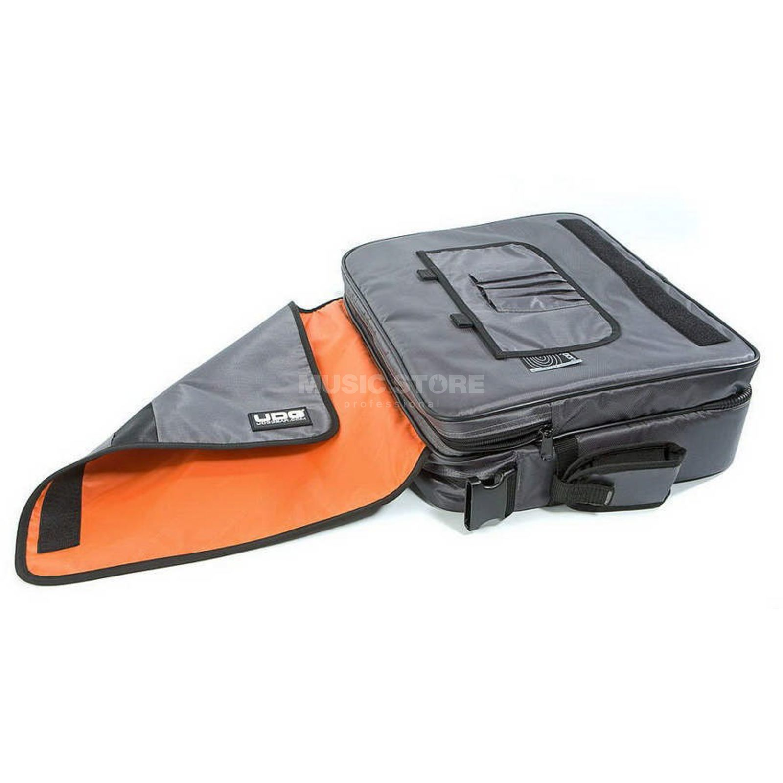 "UDG CourierBag Deluxe 15"" Steel Grey/Orange Inside U9448 Productafbeelding"
