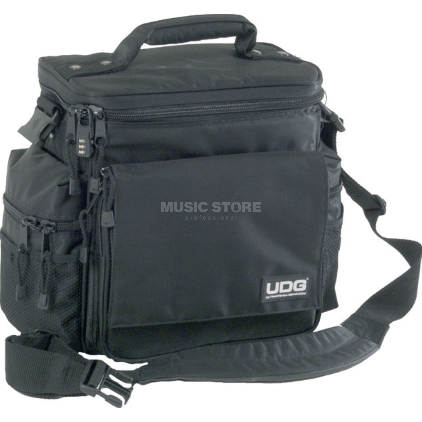 UDG SlingBag black / for 45 LP´s incl. 2 CD Maps Immagine prodotto