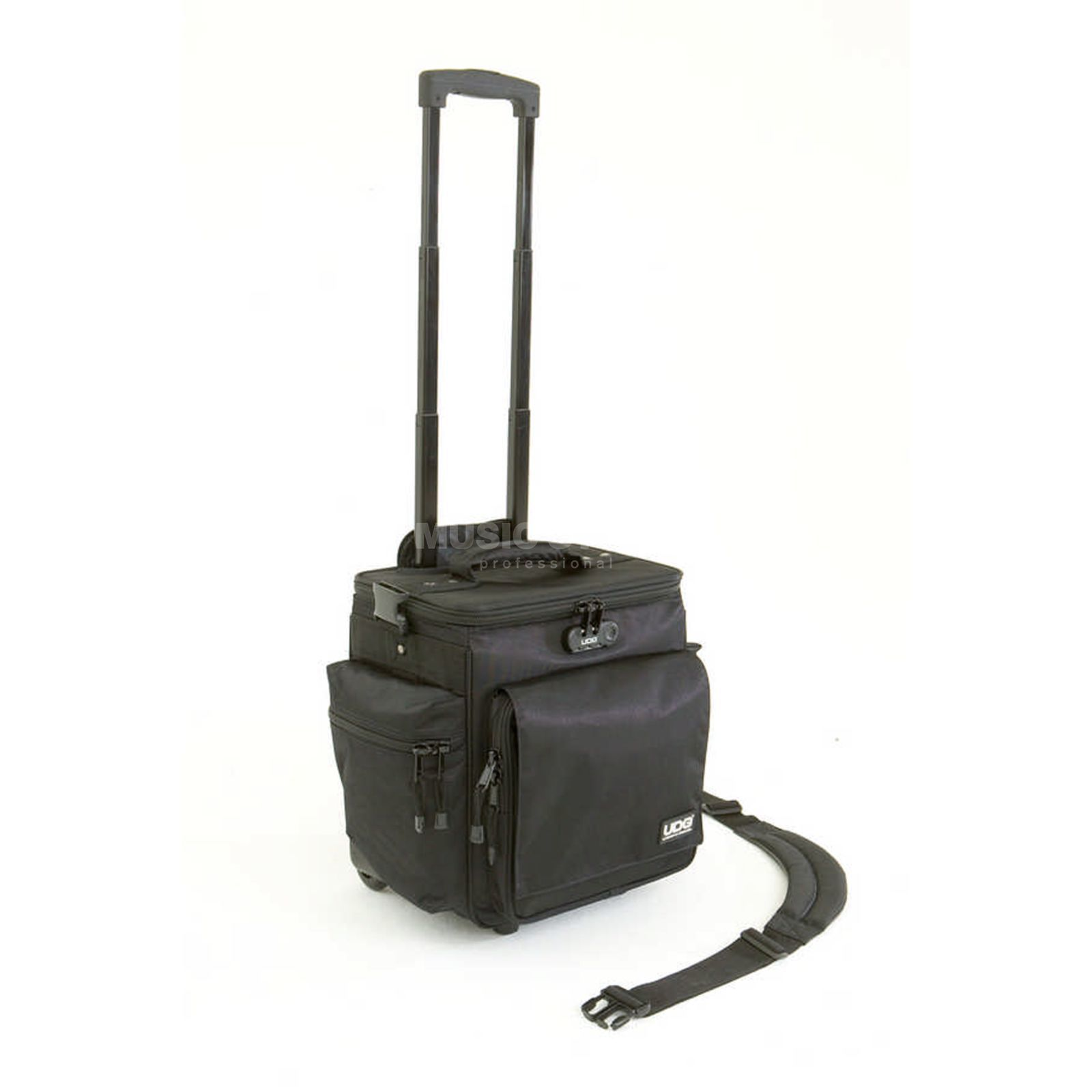 UDG SlingBag Trolley Deluxe Black/Orange Inside U9981BL/OR Produktbillede