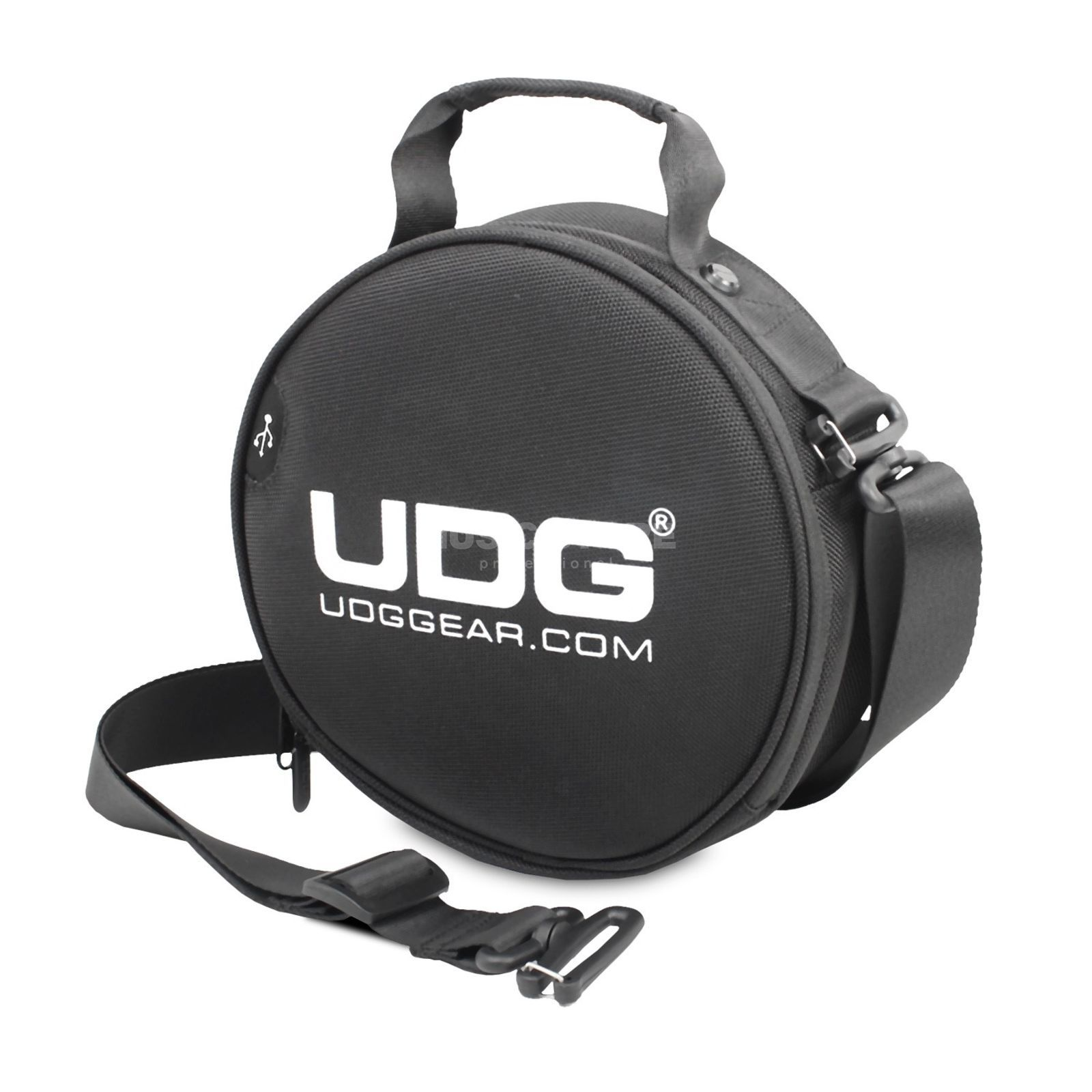 UDG Ultimate Digi Headphone Bag Black (U9950BL) Produktbillede