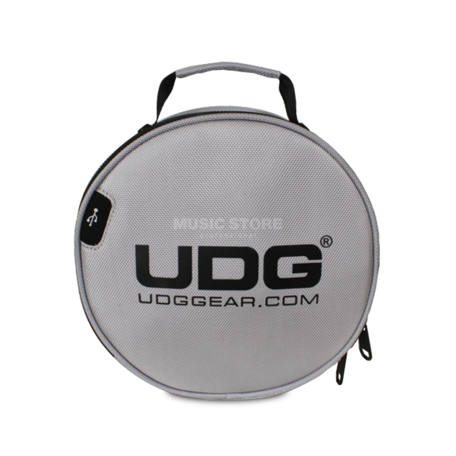UDG Ultimate Digi Headphone Bag Silver (U9950SL) Produktbillede
