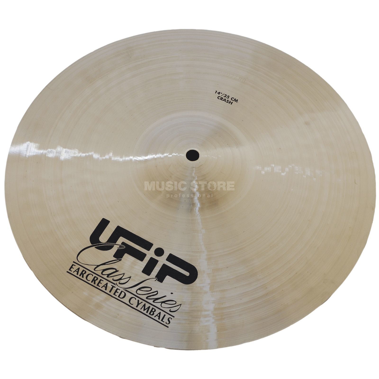 "Ufip Class Medium Crash 17"", Natural Finish Produktbillede"