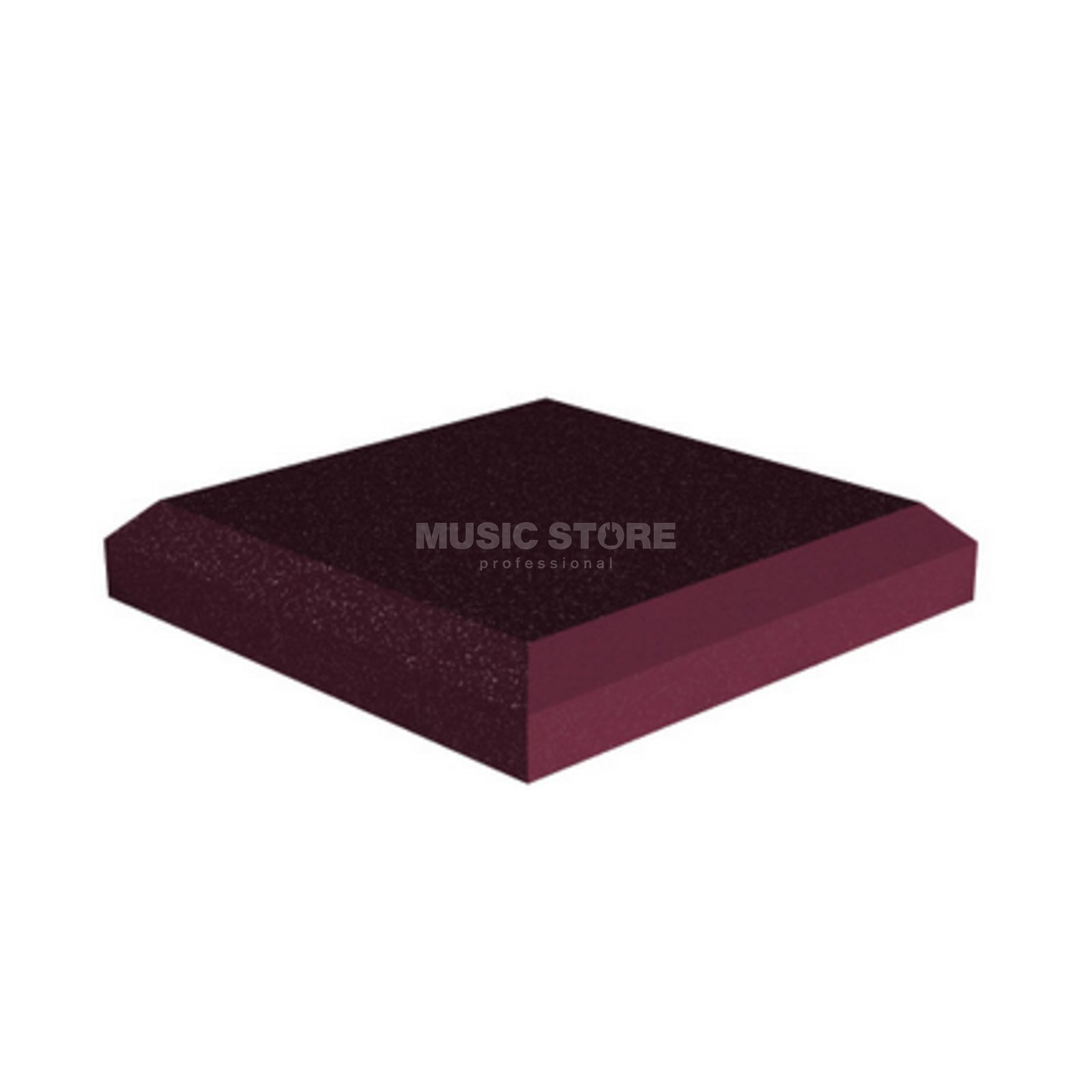 Universal Acoustics Jupiter Wedge Flat Pack Burgundy - Pack Of 10 Produktbillede