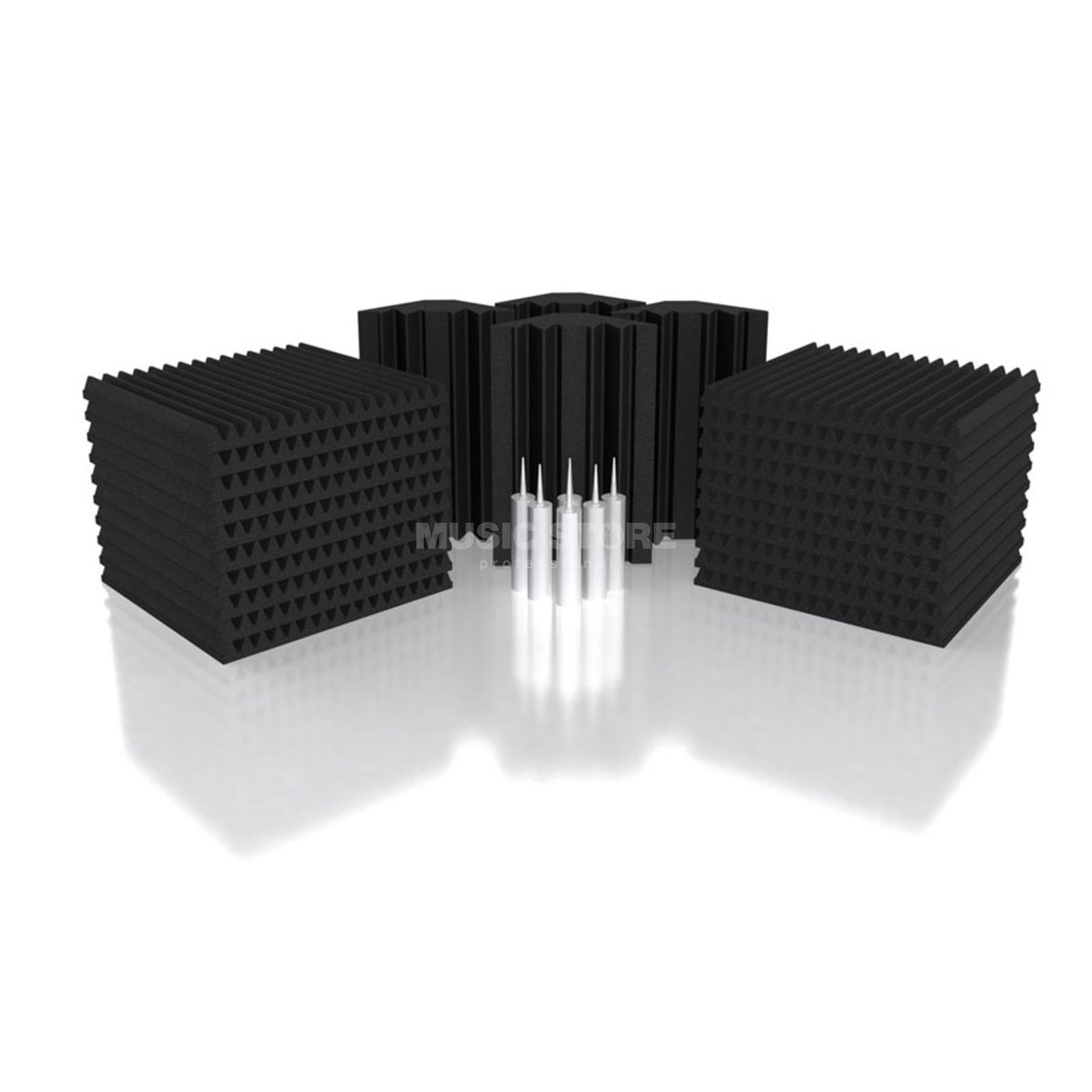Universal Acoustics Mercury-3 Room Kit 26-piece, 7.2m², anthracite Produktbillede