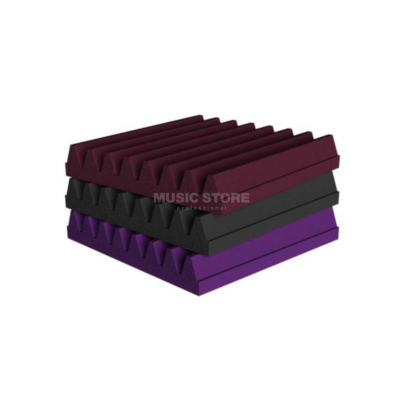 Universal Acoustics Mercury Wedge,600x600x50 mm 10er Pack, violett Produktbild