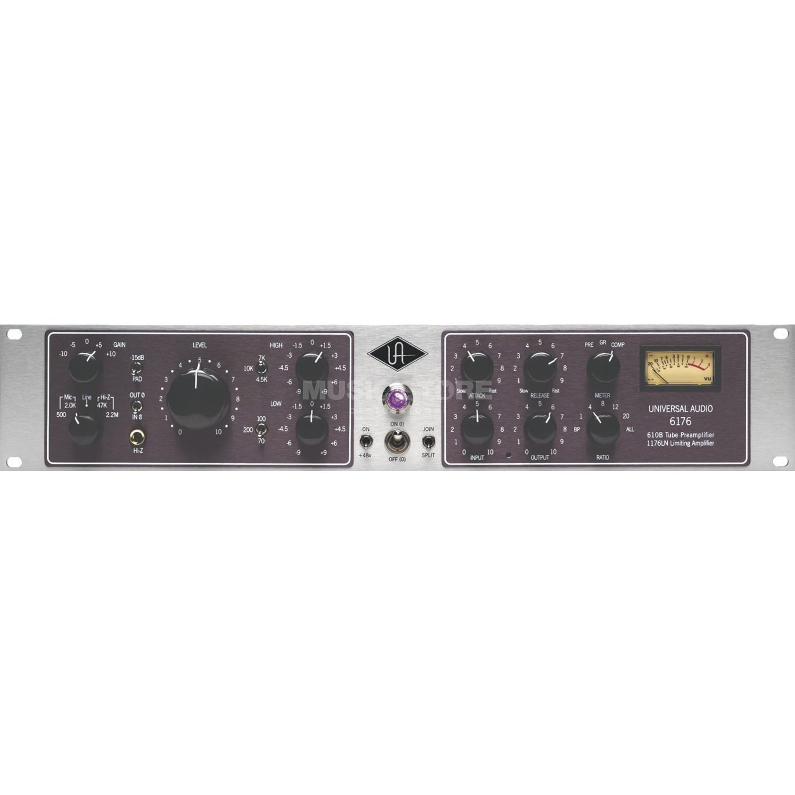 Universal Audio 6176 Tube-PreAmp & Compressor Combination of 610 and 1176 Produktbillede