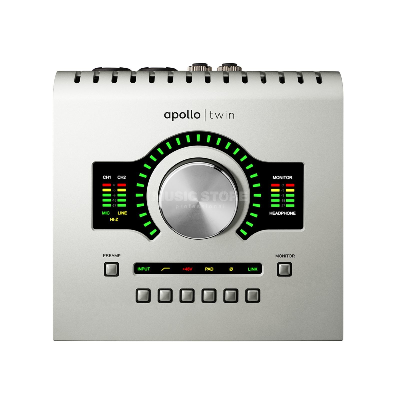Universal Audio Apollo Twin Solo Thunderbolt Interface Produktbillede