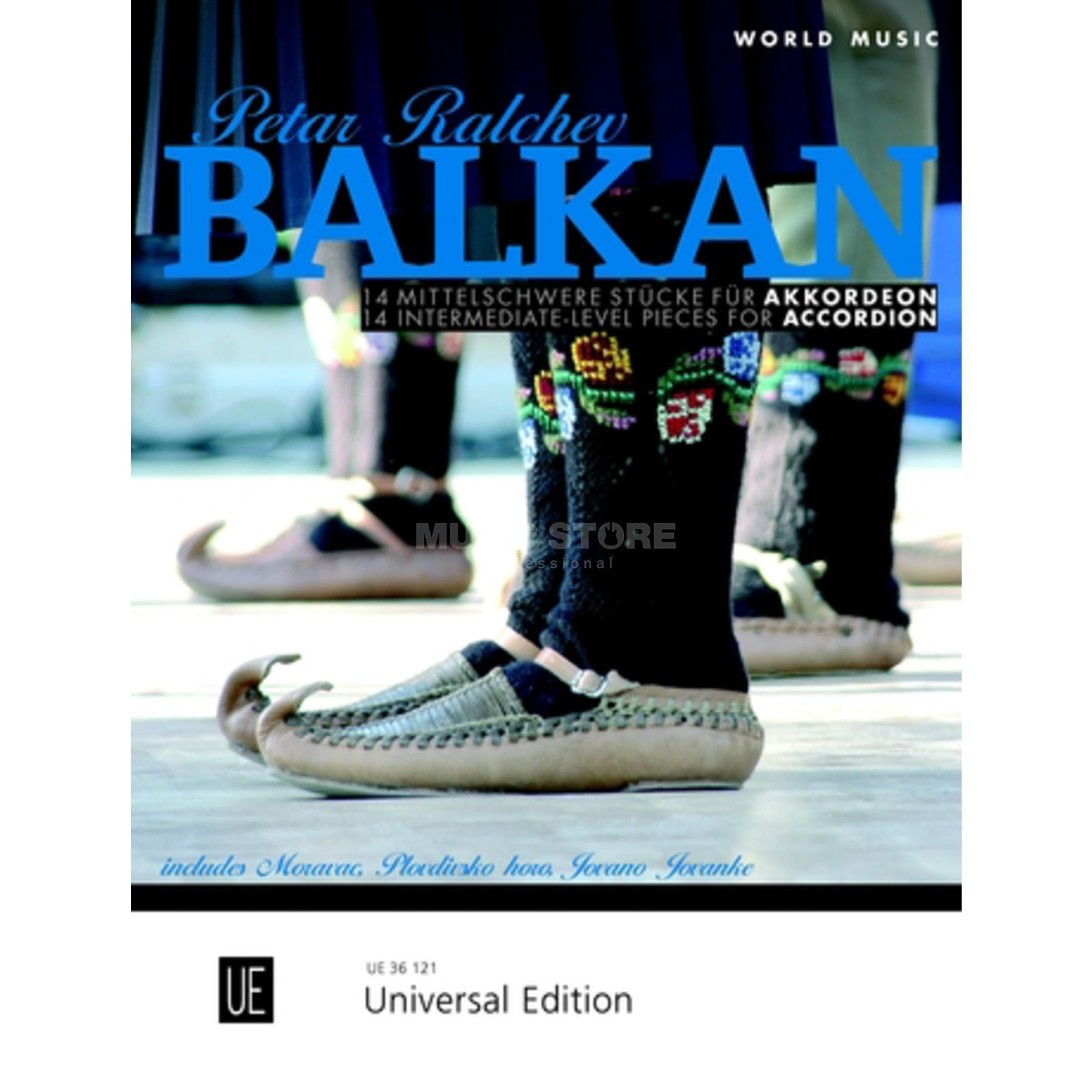 Universal Edition Balkan Accordion Produktbild