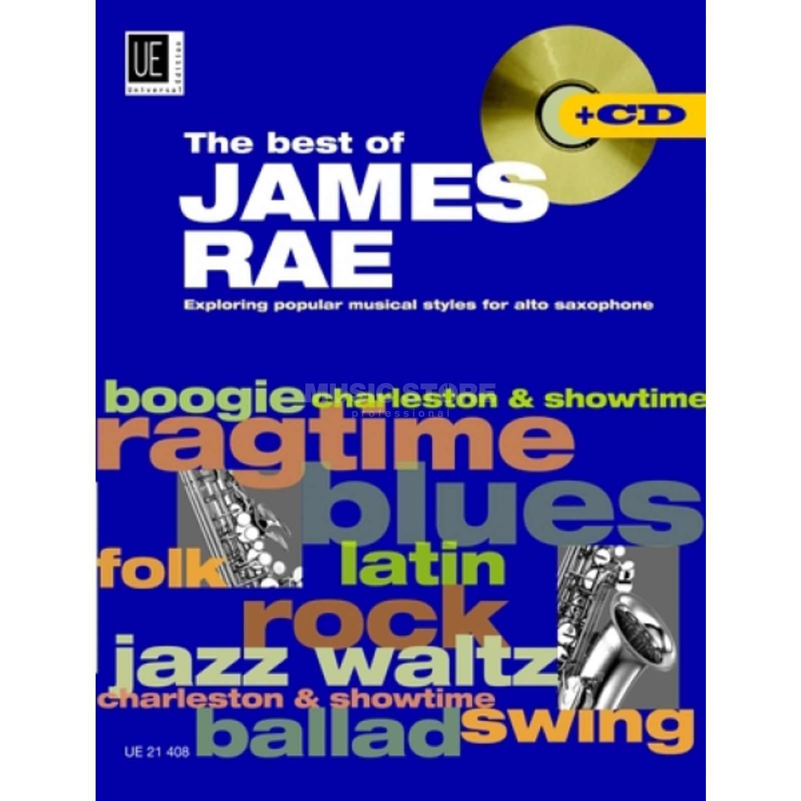 Universal Edition Best of James Rae Saxophon Rae, Sax, (Klav) - CD Produktbild