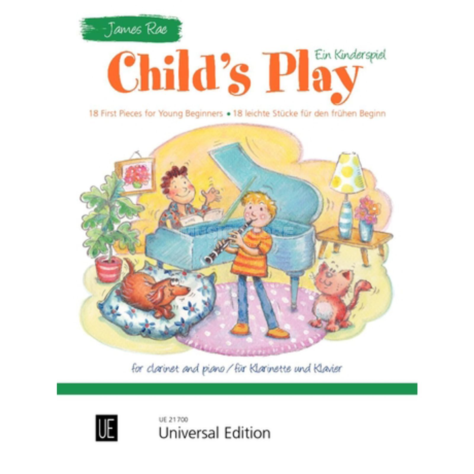 Universal Edition Child's Play - Ein Kinderspiel Produktbillede