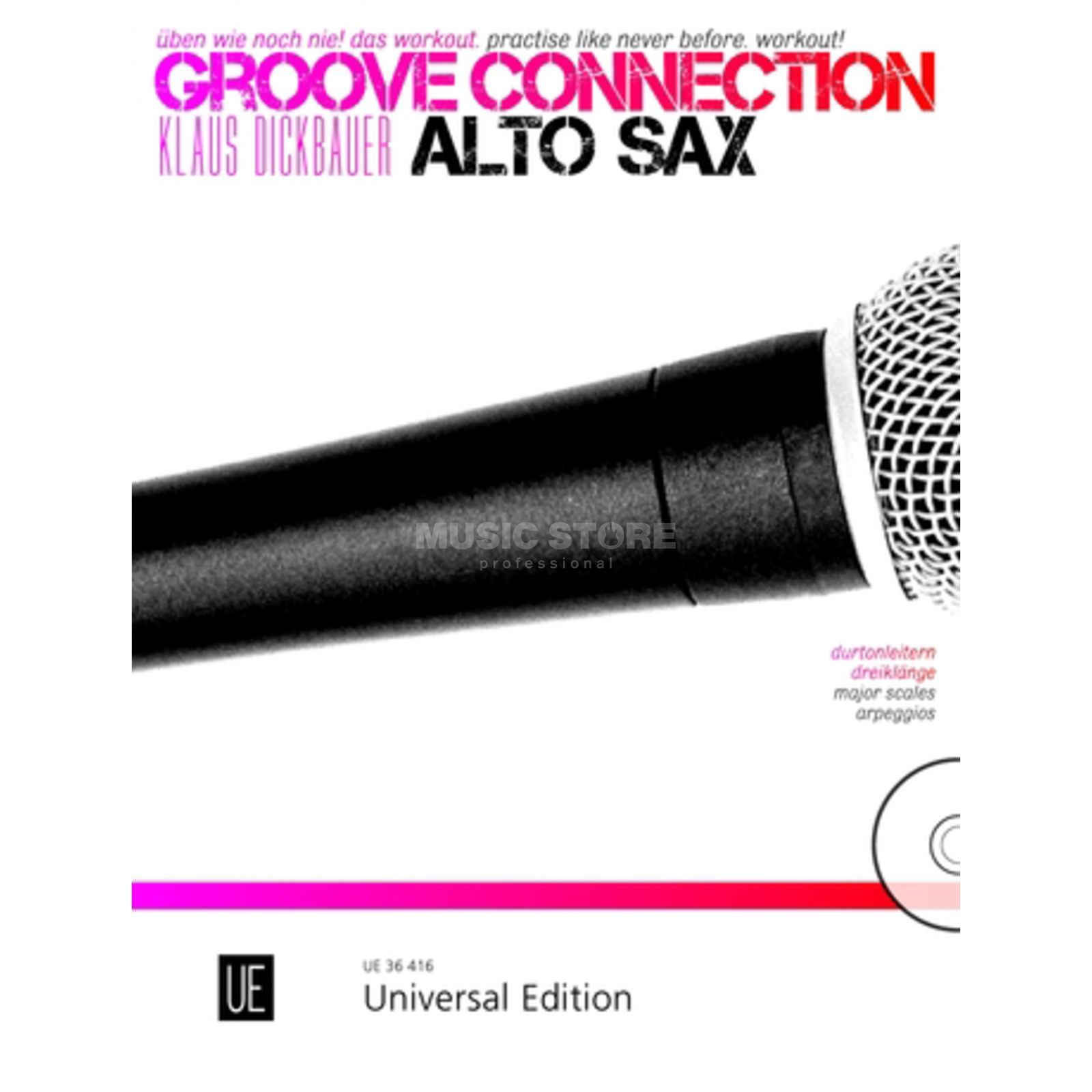 Universal Edition Groove Connection Alt Sax. Üben Produktbild