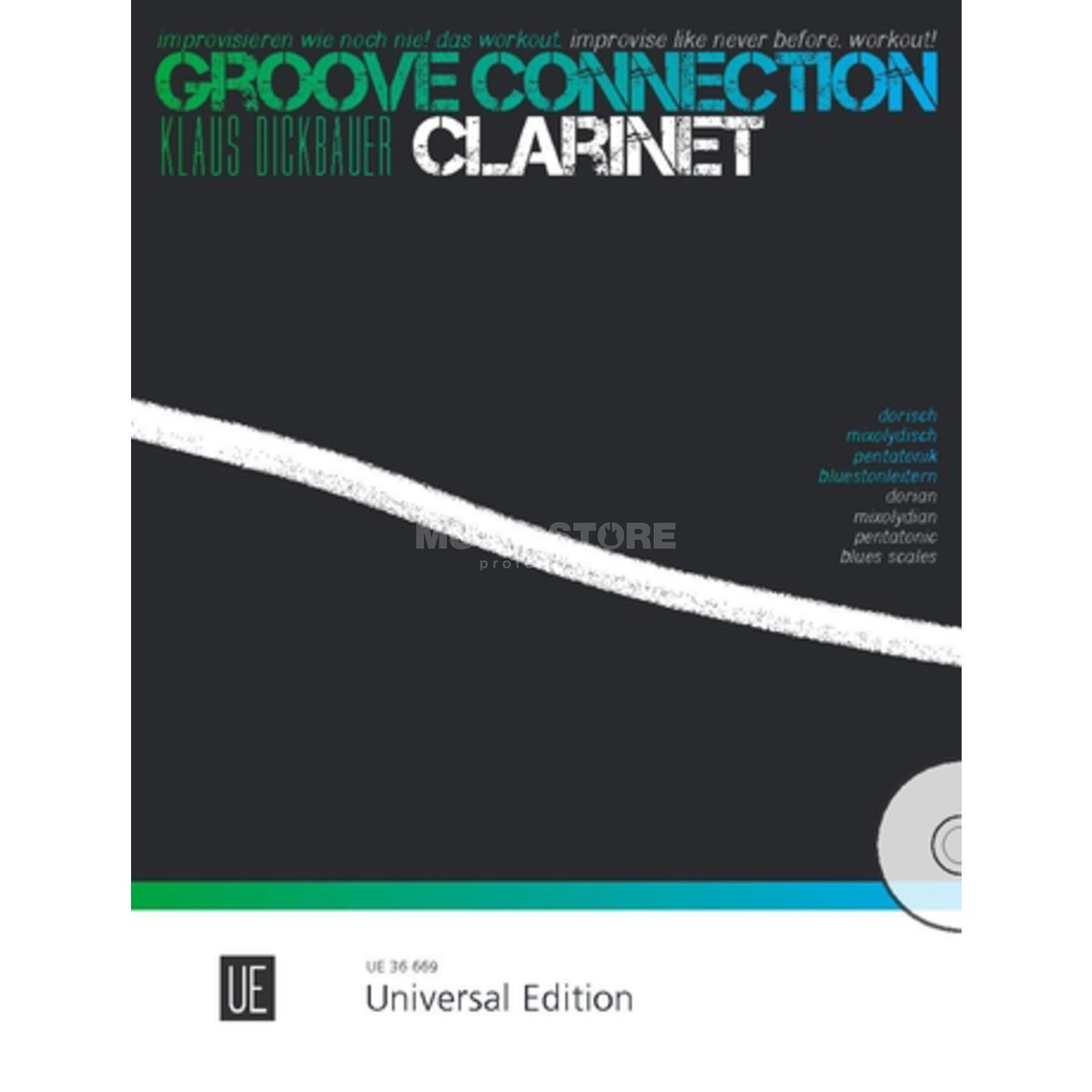 Universal Edition Groove Connection - Clarinet: Dorisch – Mixolydisch – Pentatonik Produktbild
