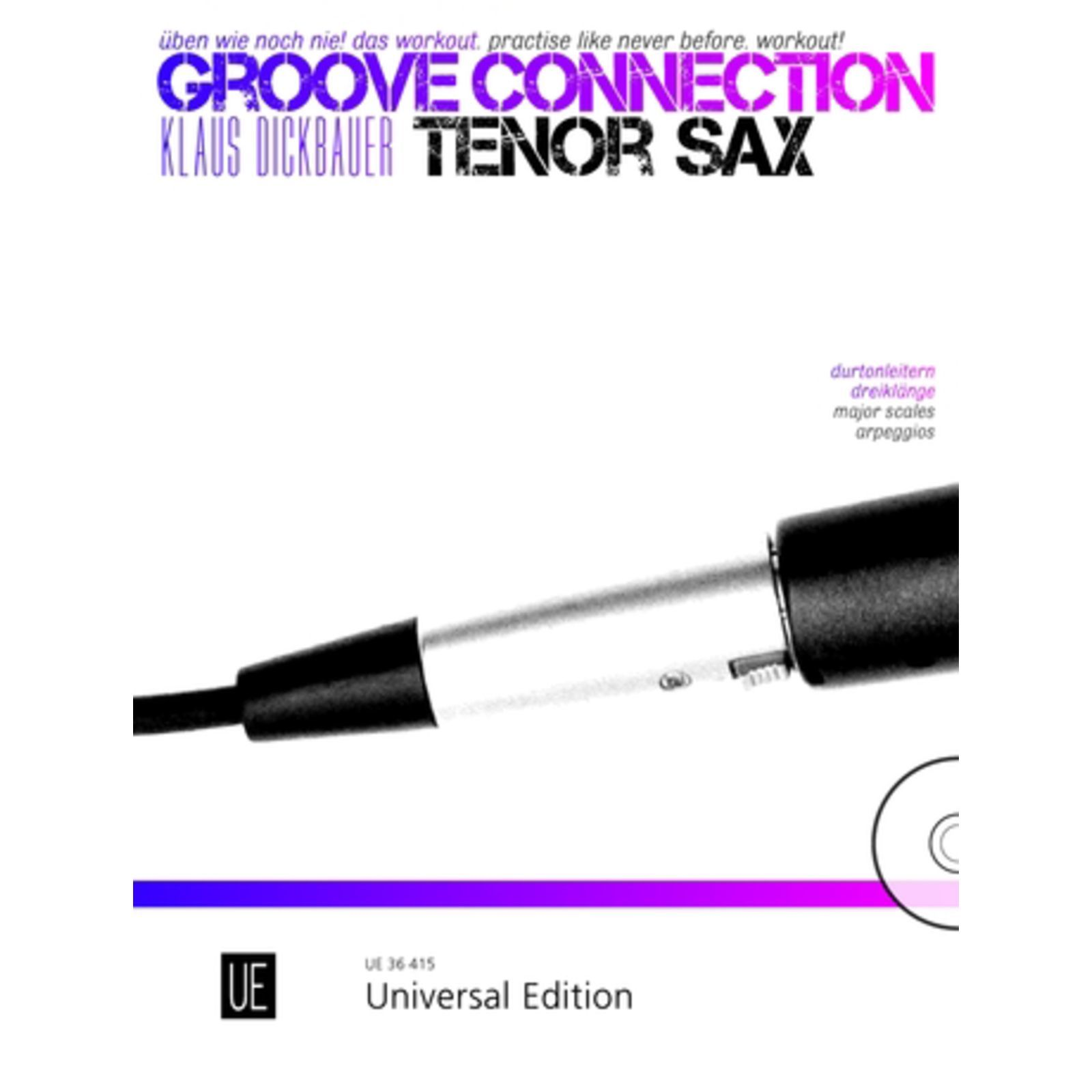 Universal Edition Groove Connection Tenor Sax. Üben Produktbillede