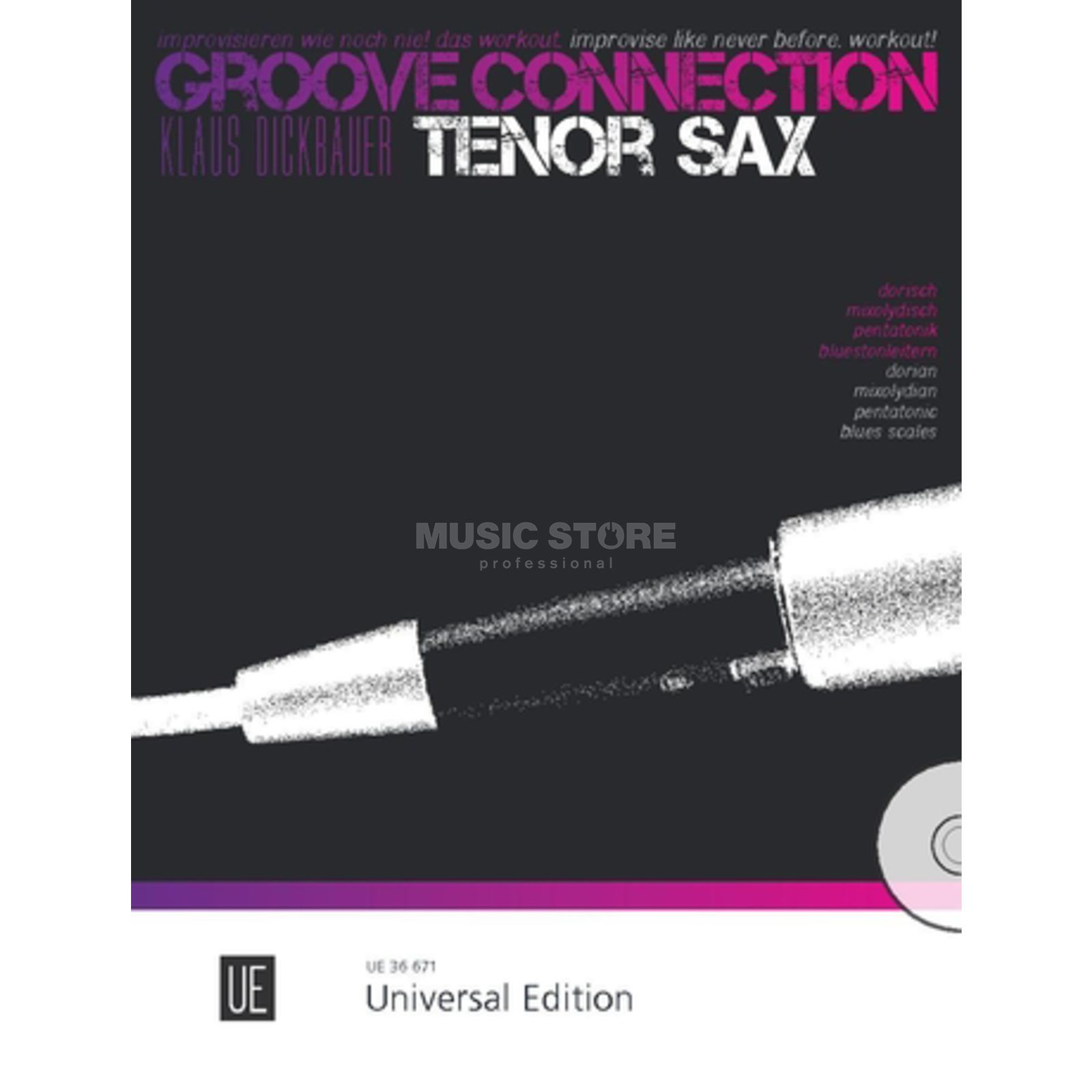 Universal Edition Groove Connection Tenor Saxophone: Dorisch – Mixolydisch – Pentatonik Product Image