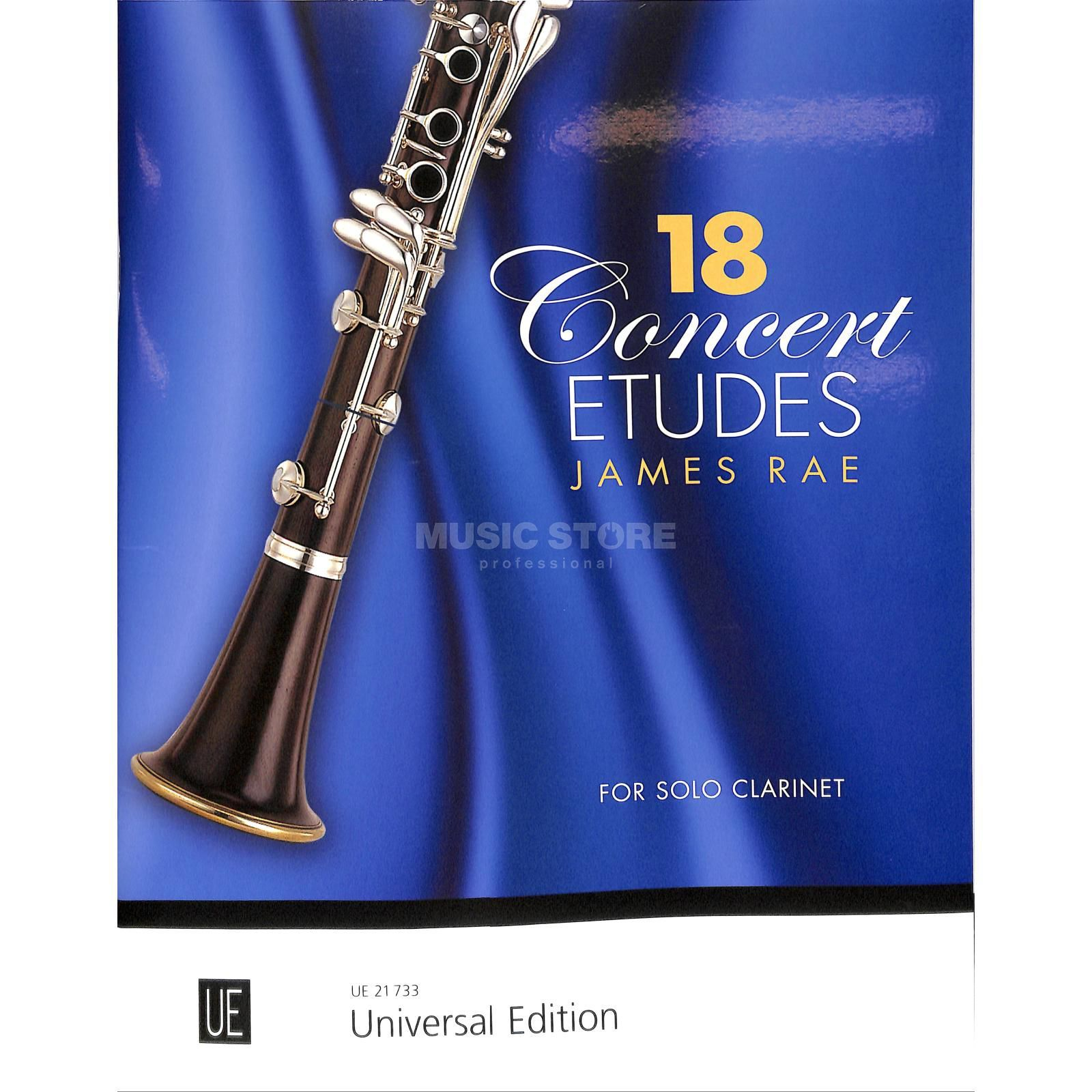 Universal Edition James Rae: 18 Concert Etudes Product Image